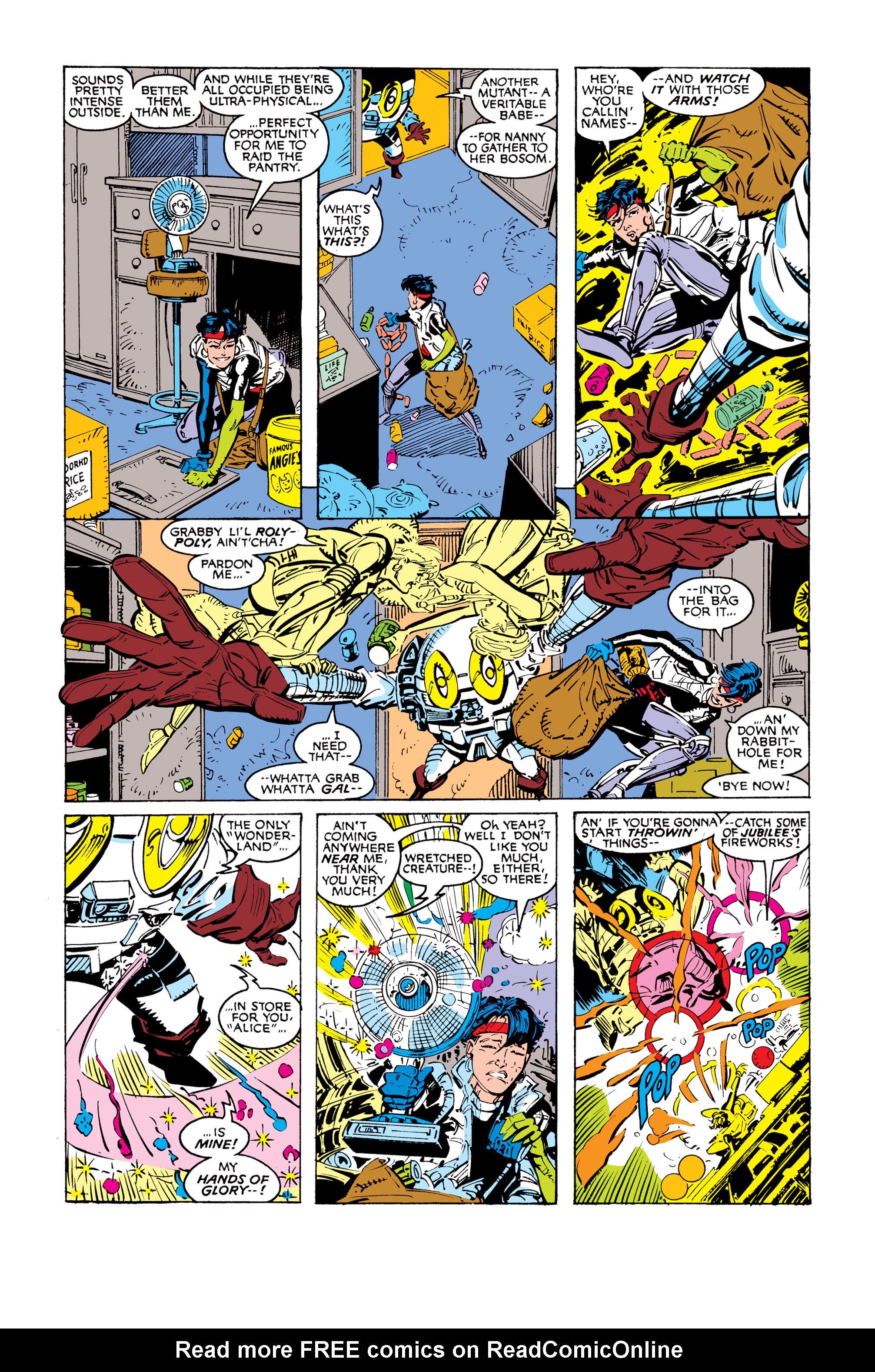Read online Uncanny X-Men (1963) comic -  Issue #248 - 16