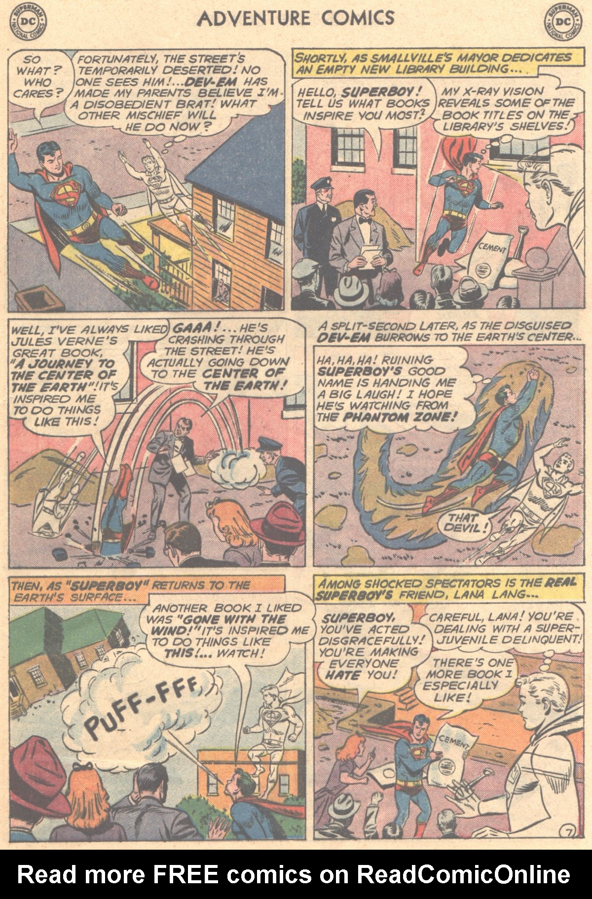 Read online Adventure Comics (1938) comic -  Issue #288 - 9