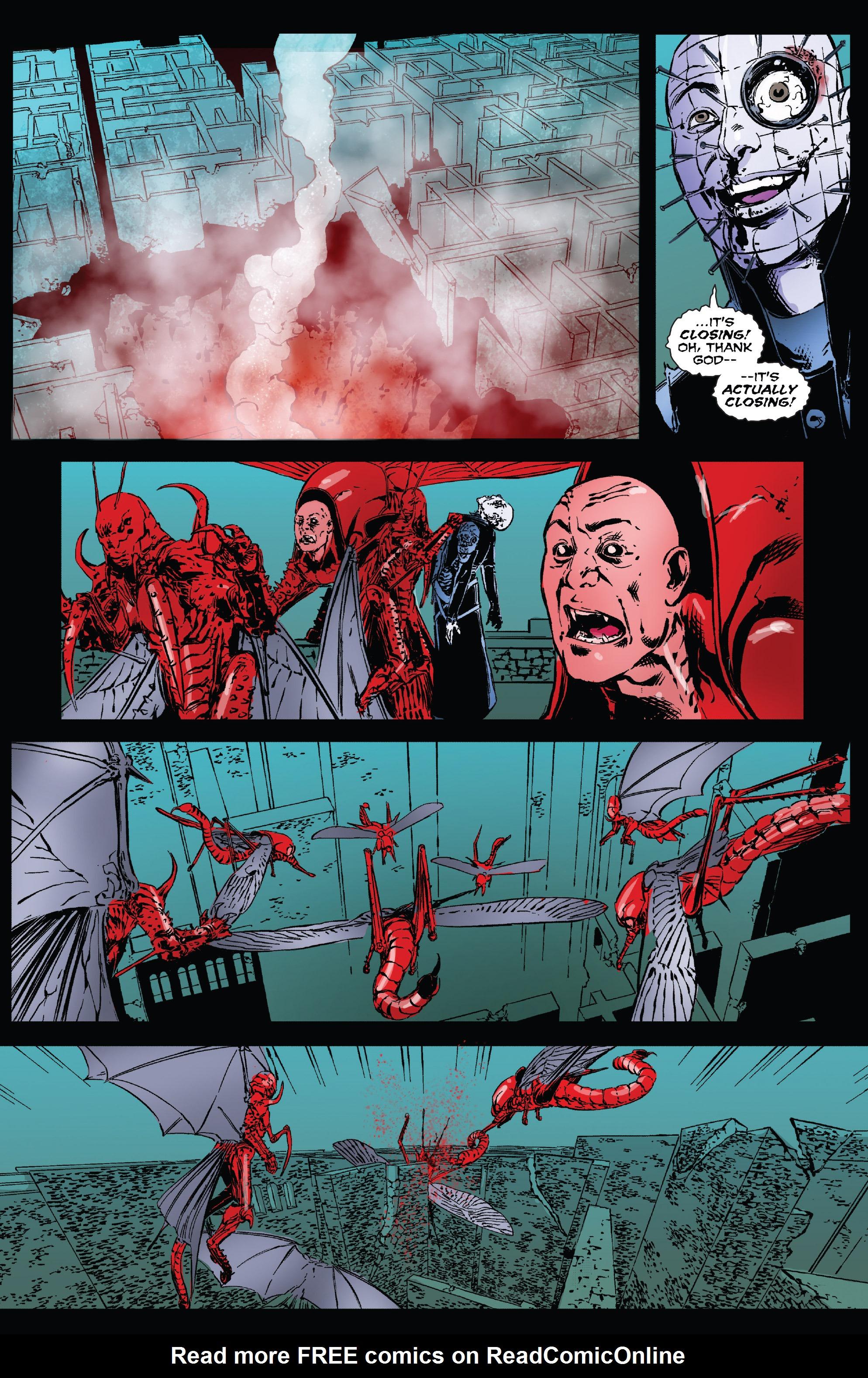 Read online Clive Barker's Hellraiser: The Dark Watch comic -  Issue # TPB 3 - 123