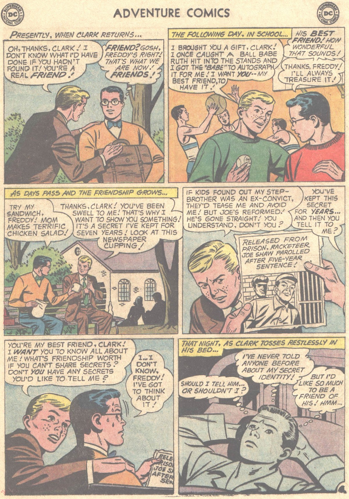 Read online Adventure Comics (1938) comic -  Issue #319 - 29