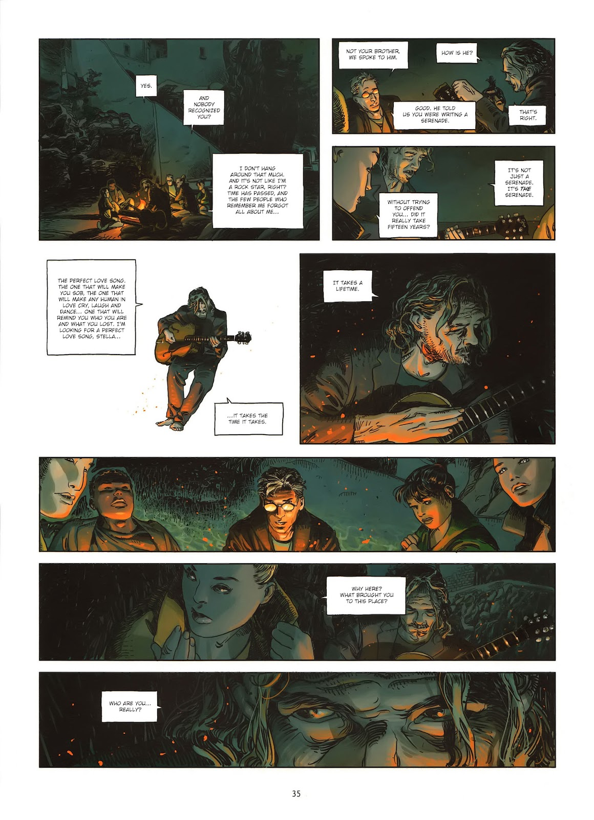 Read online Cutting Edge (2013) comic -  Issue #1 - 33
