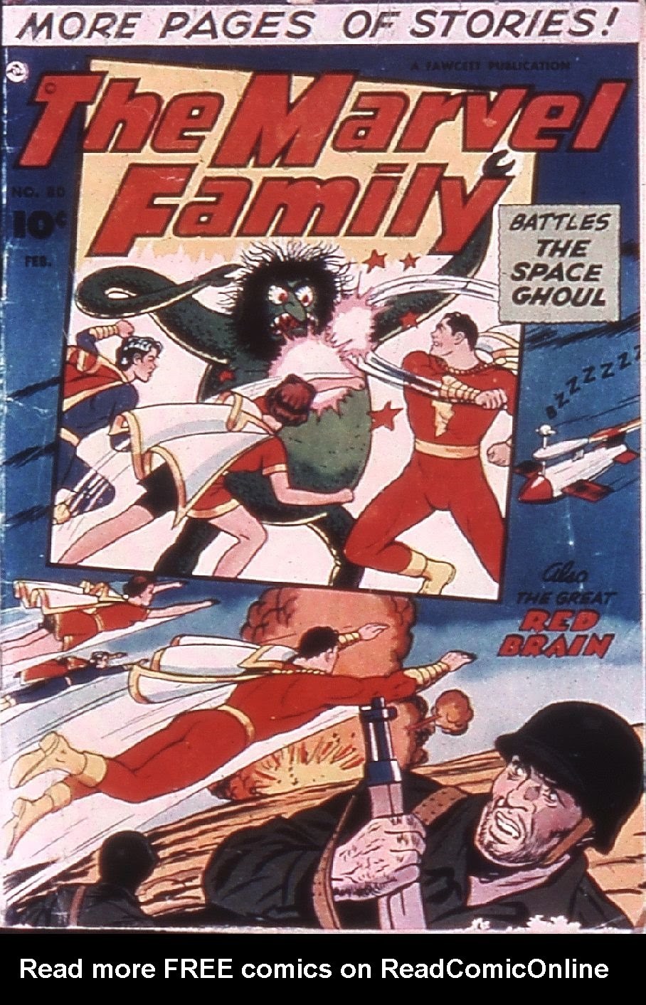 The Marvel Family 80 Page 1