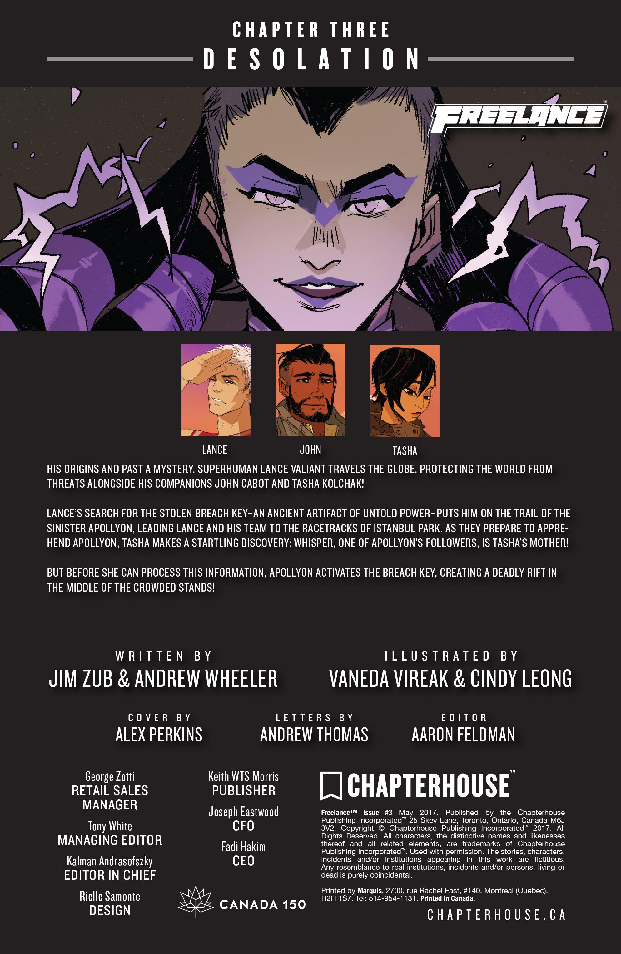 Read online Freelance comic -  Issue #3 - 2