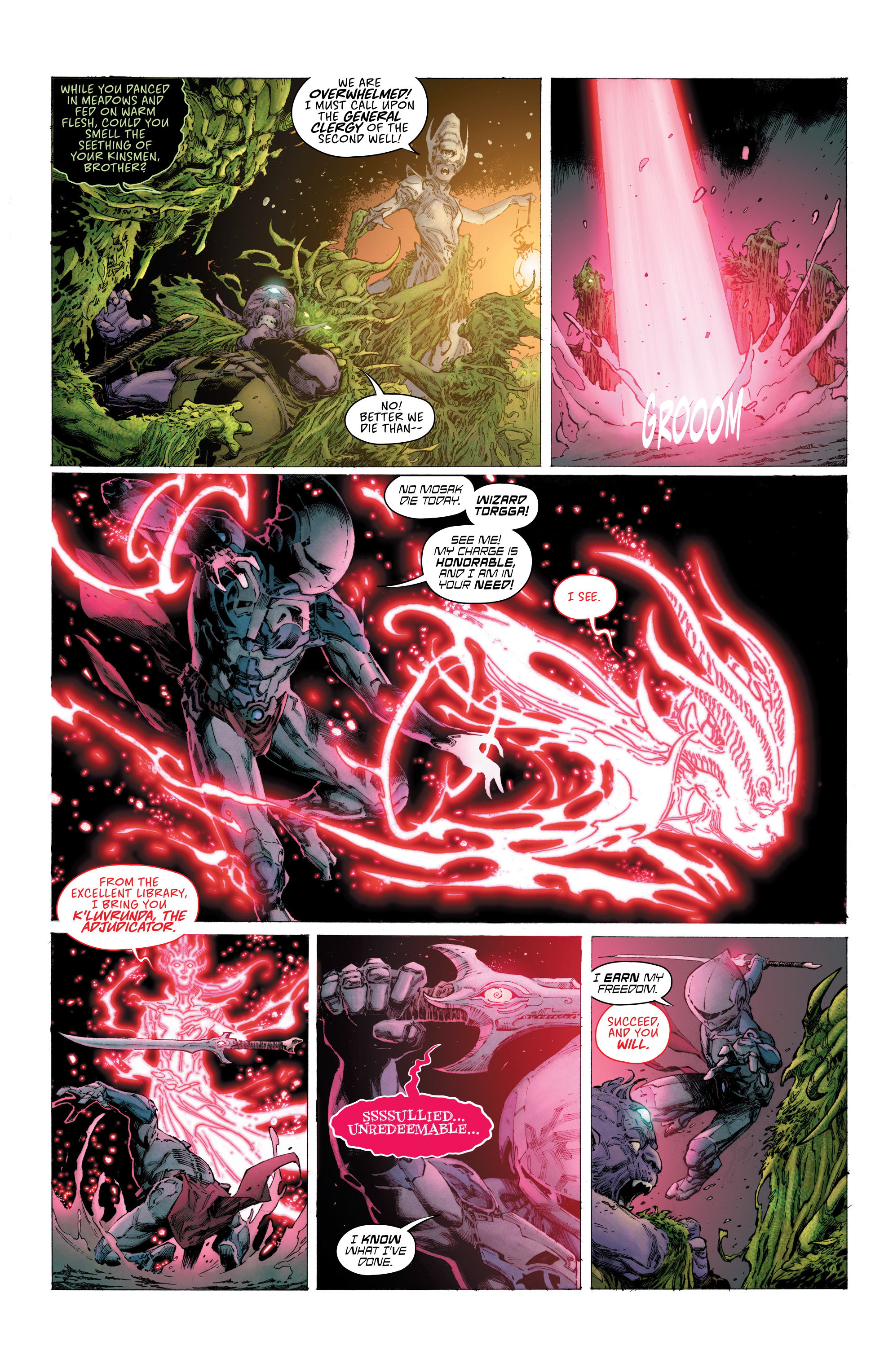 Read online Seven To Eternity comic -  Issue #6 - 18