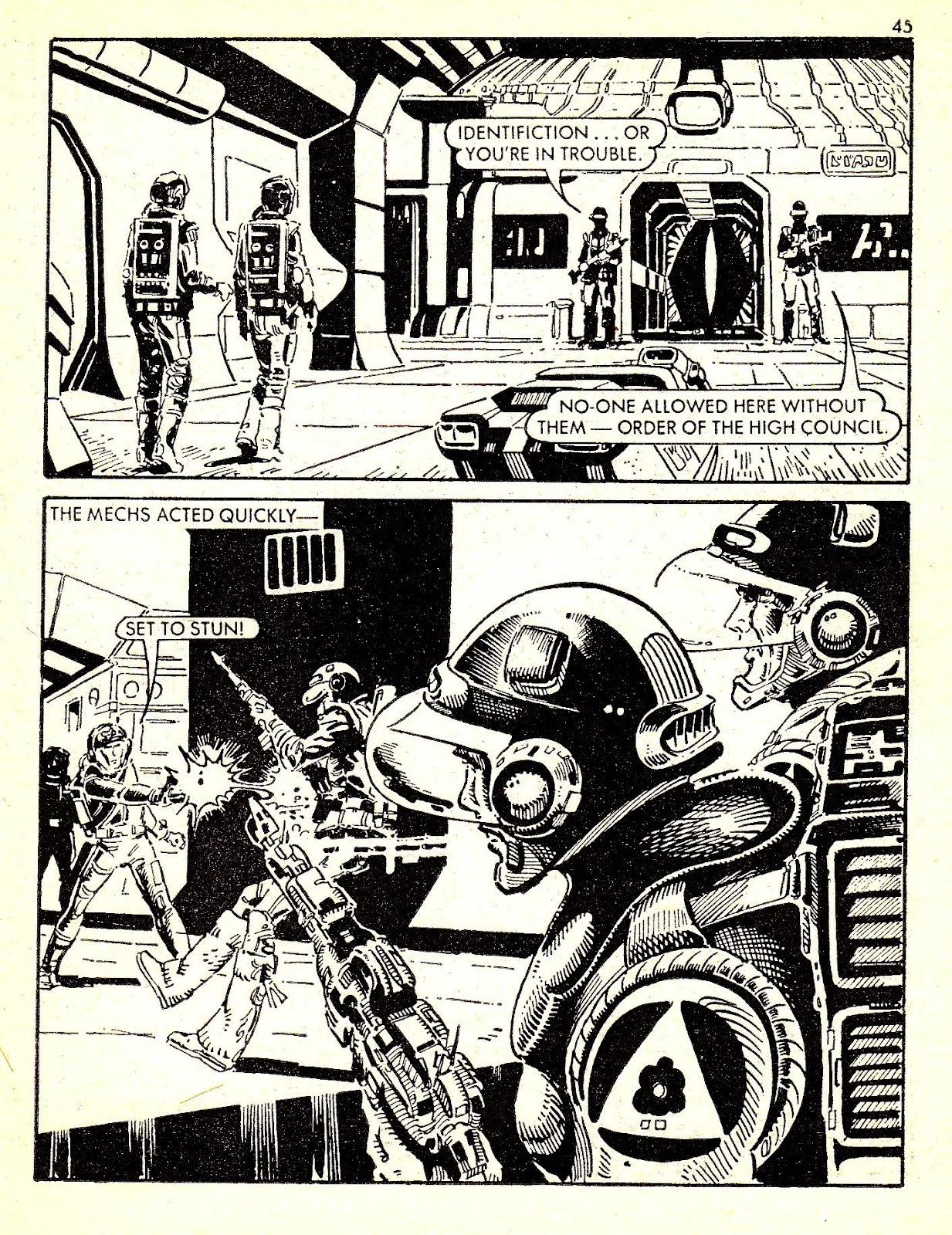 Starblazer issue 140 - Page 45