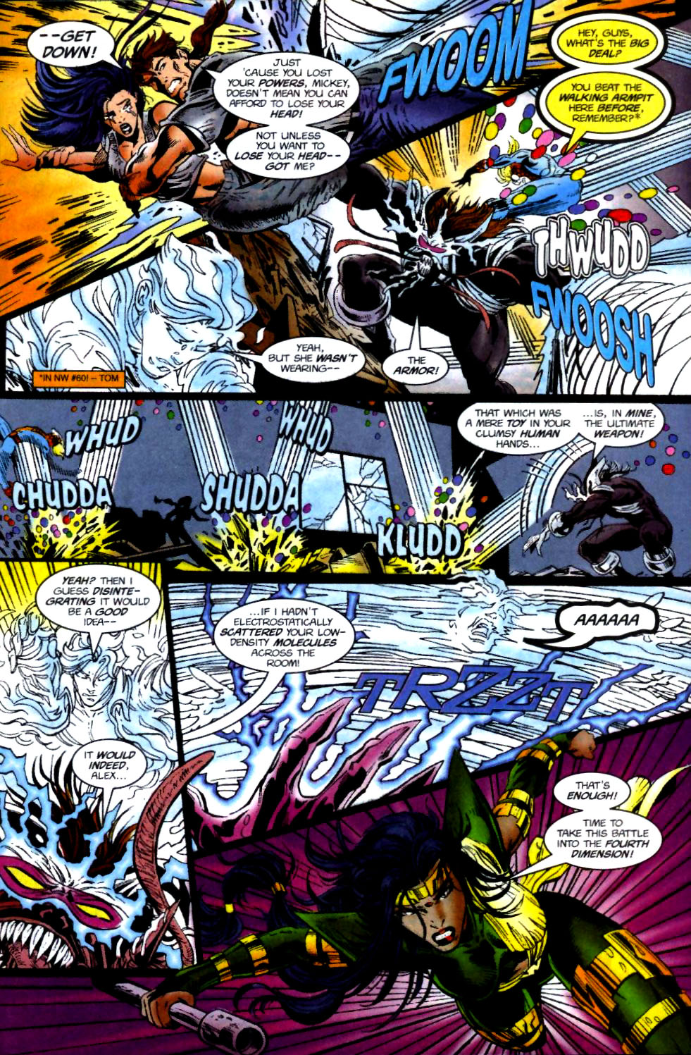 The New Warriors Issue #74 #78 - English 6