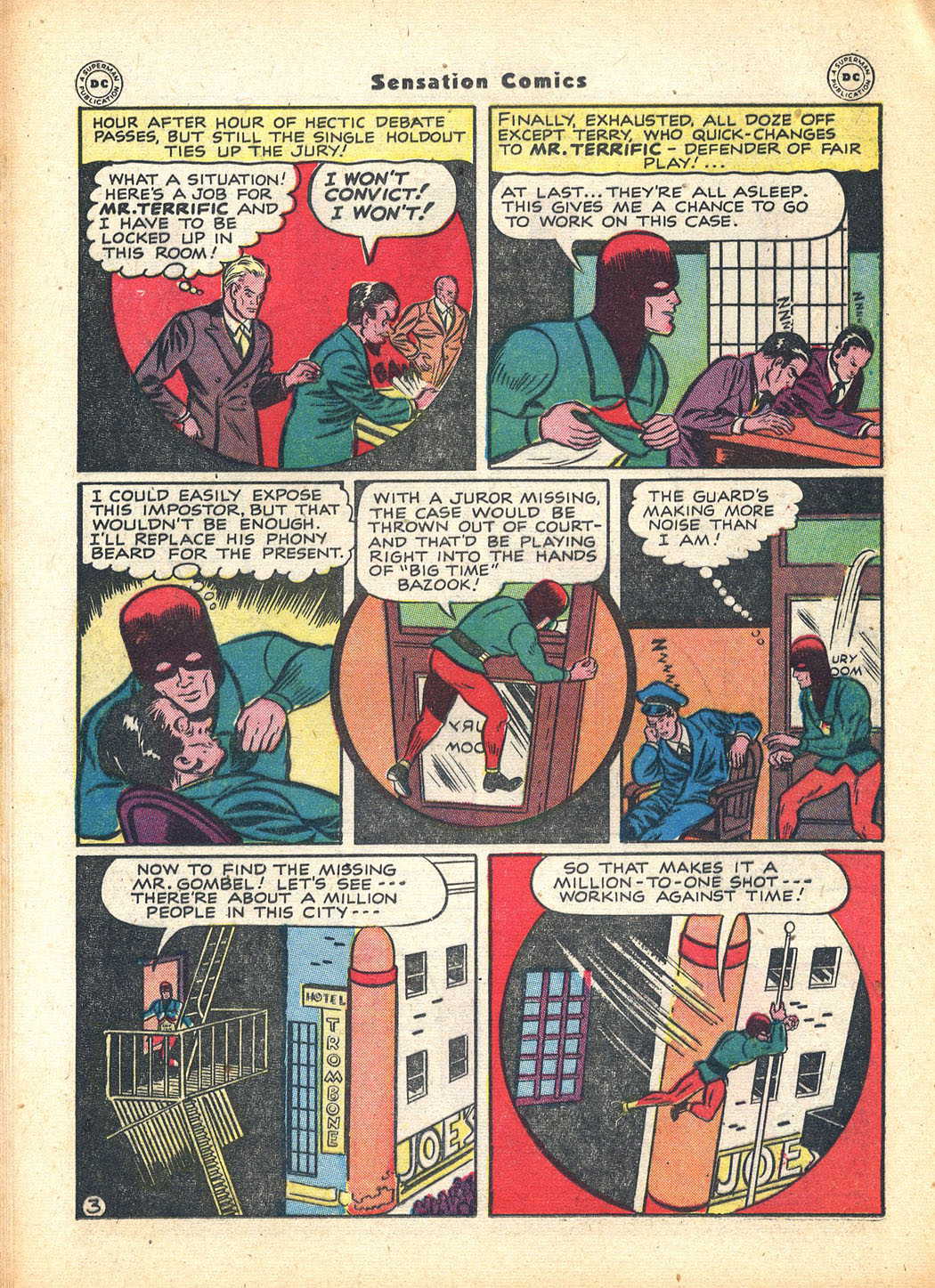 Read online Sensation (Mystery) Comics comic -  Issue #63 - 34