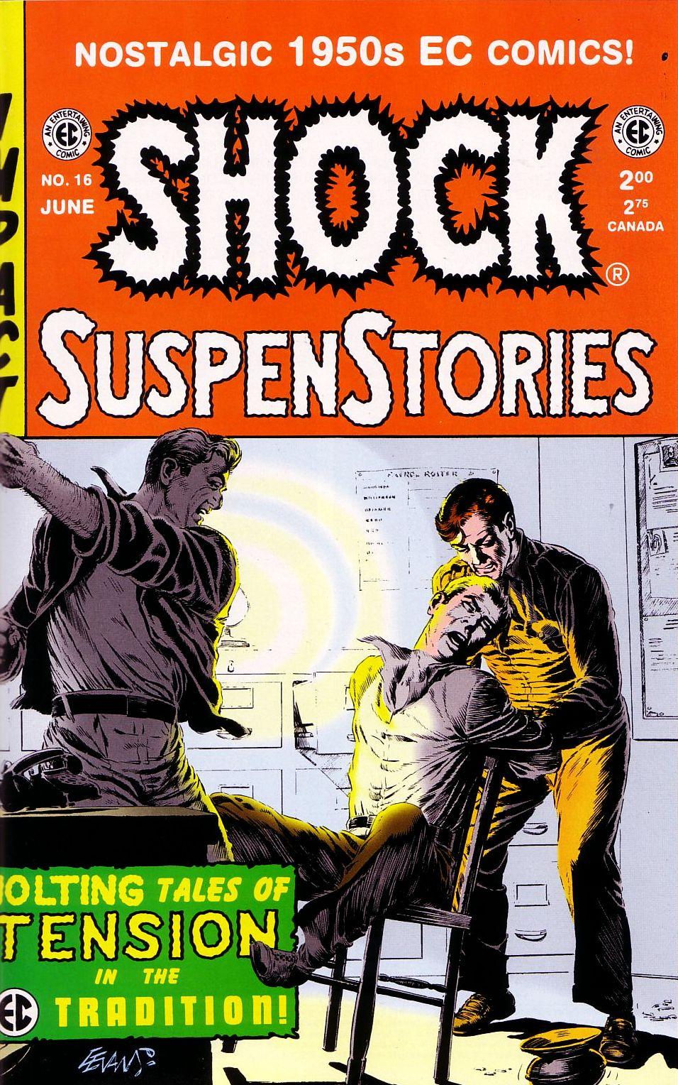 Shock SuspenStories 16 Page 1