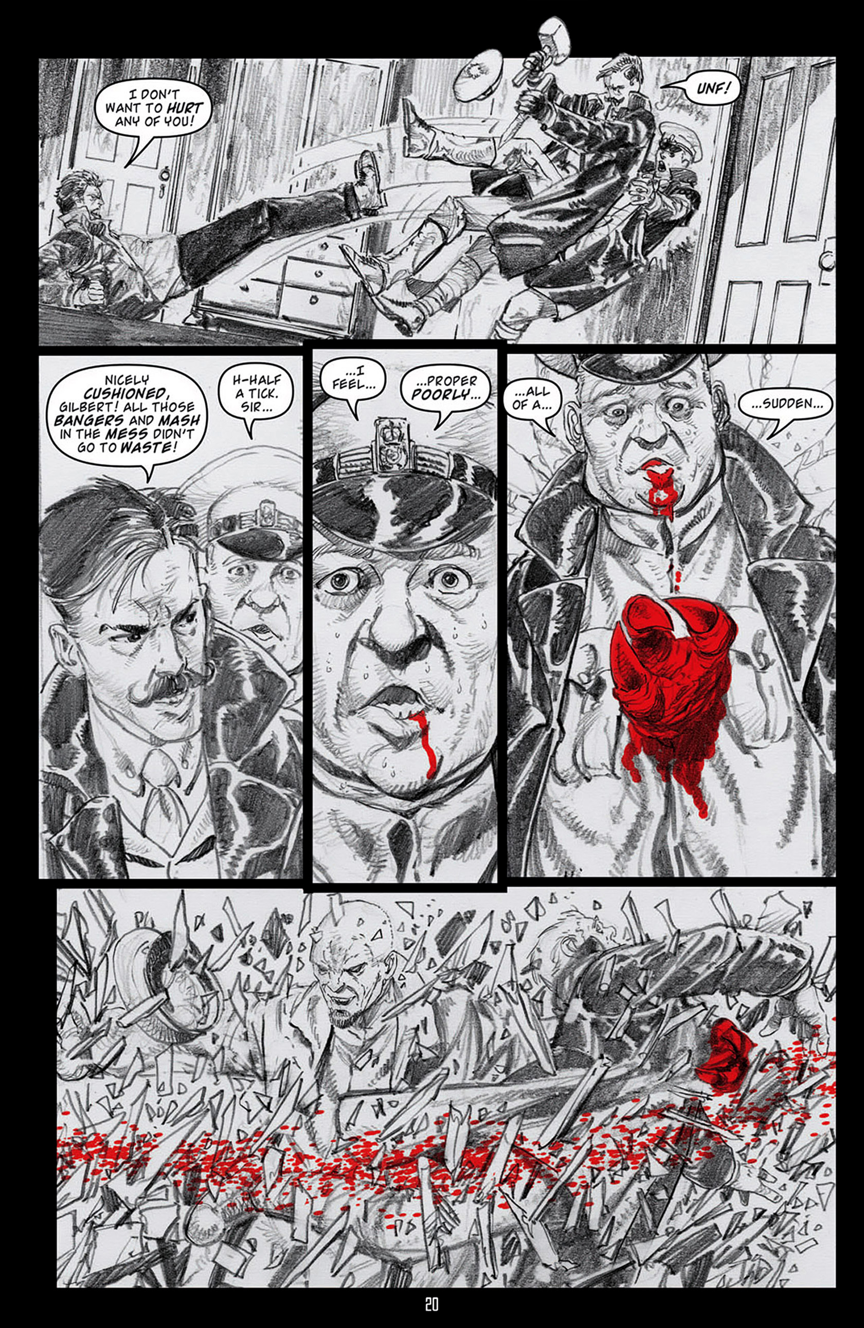 Read online Angel: Blood & Trenches comic -  Issue #3 - 22