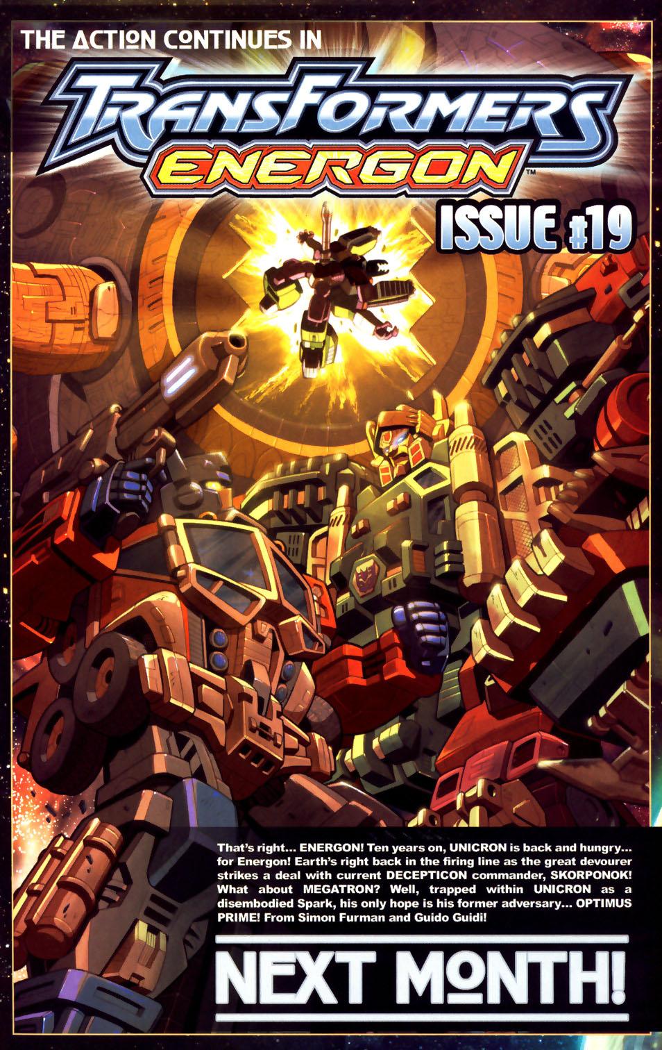 Read online Transformers Armada comic -  Issue #18 - 24