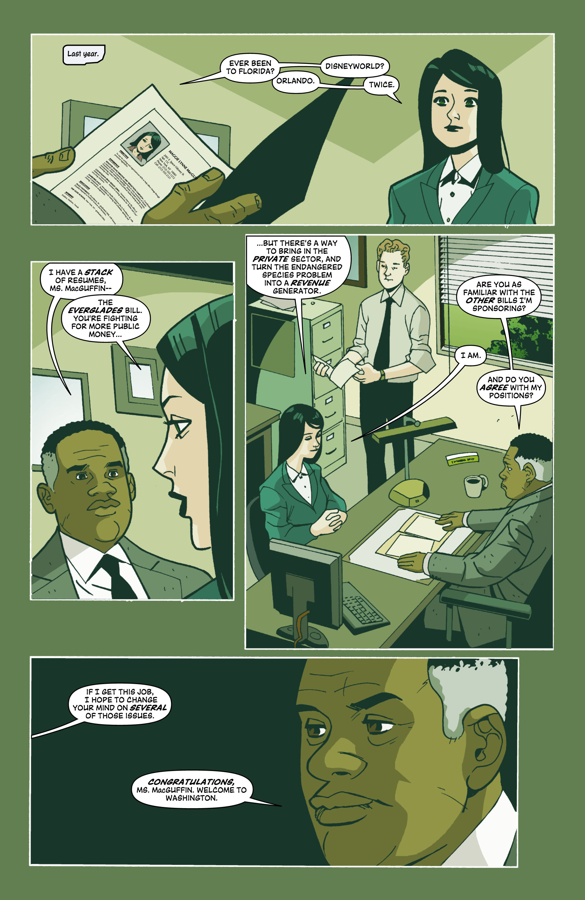 Read online Red Herring comic -  Issue #4 - 19