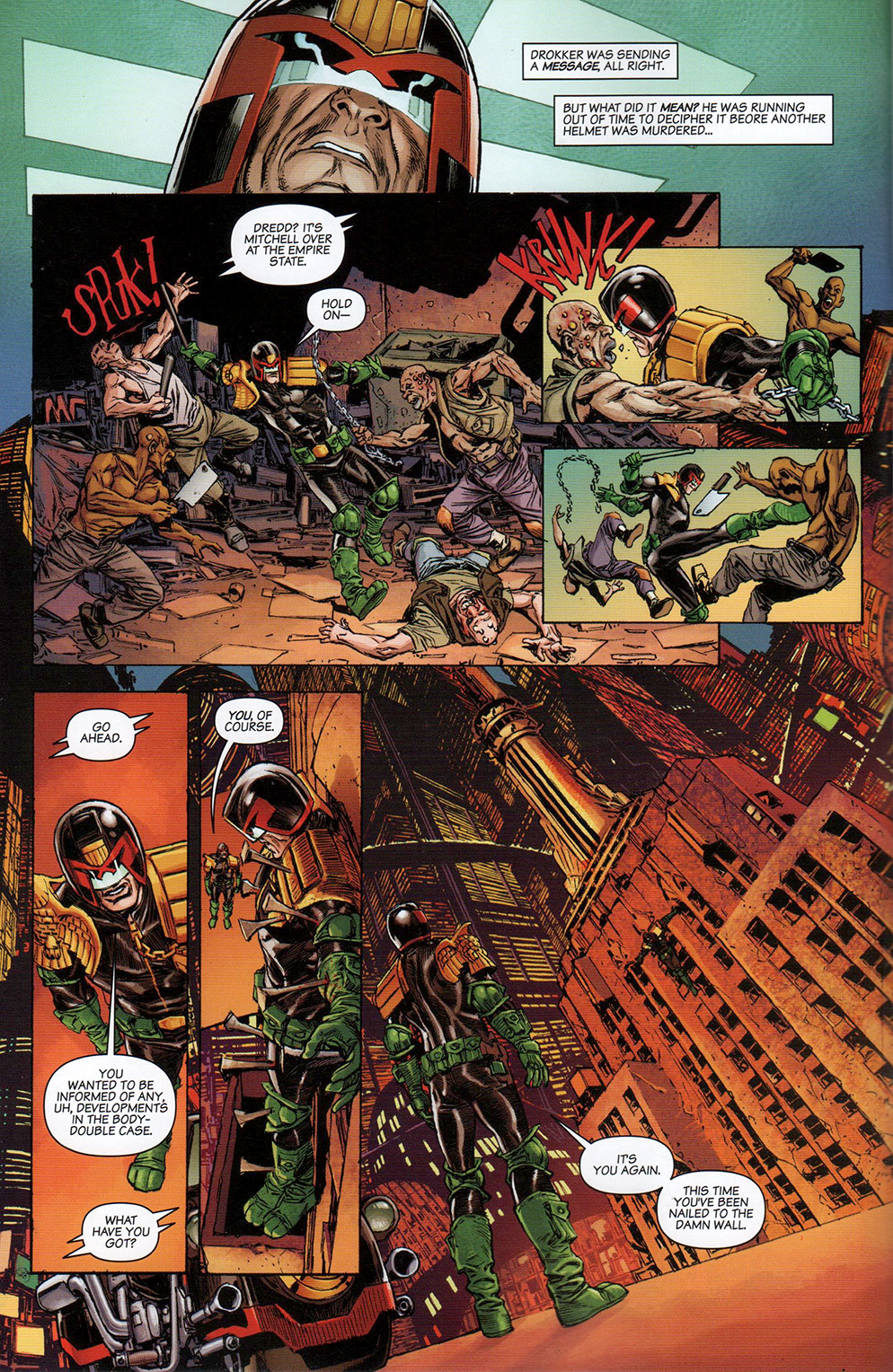 Read online Free Comic Book Day 2017 comic -  Issue # 2000 AD prog - 6