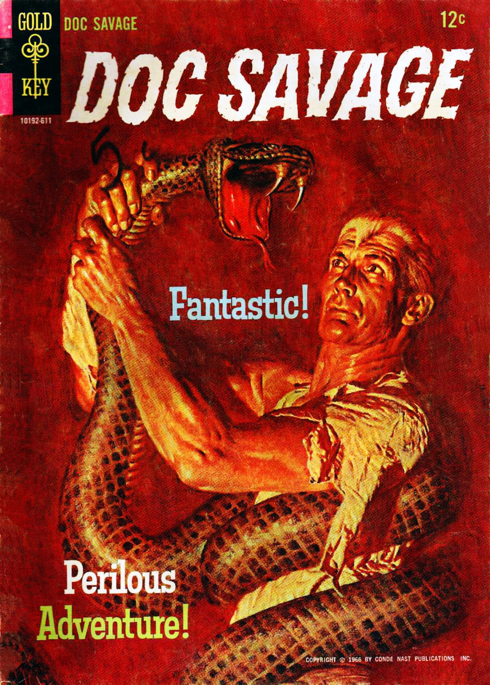 Read online Doc Savage (1966) comic -  Issue # Full - 1