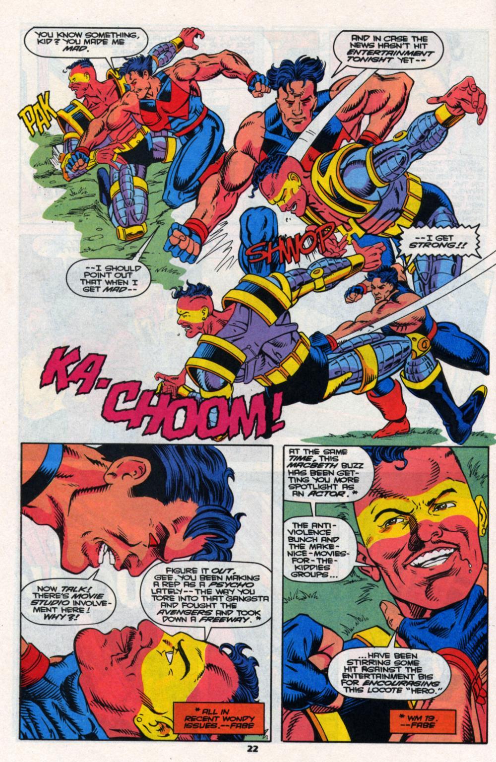 Read online Wonder Man (1991) comic -  Issue # _Annual 2 - 21