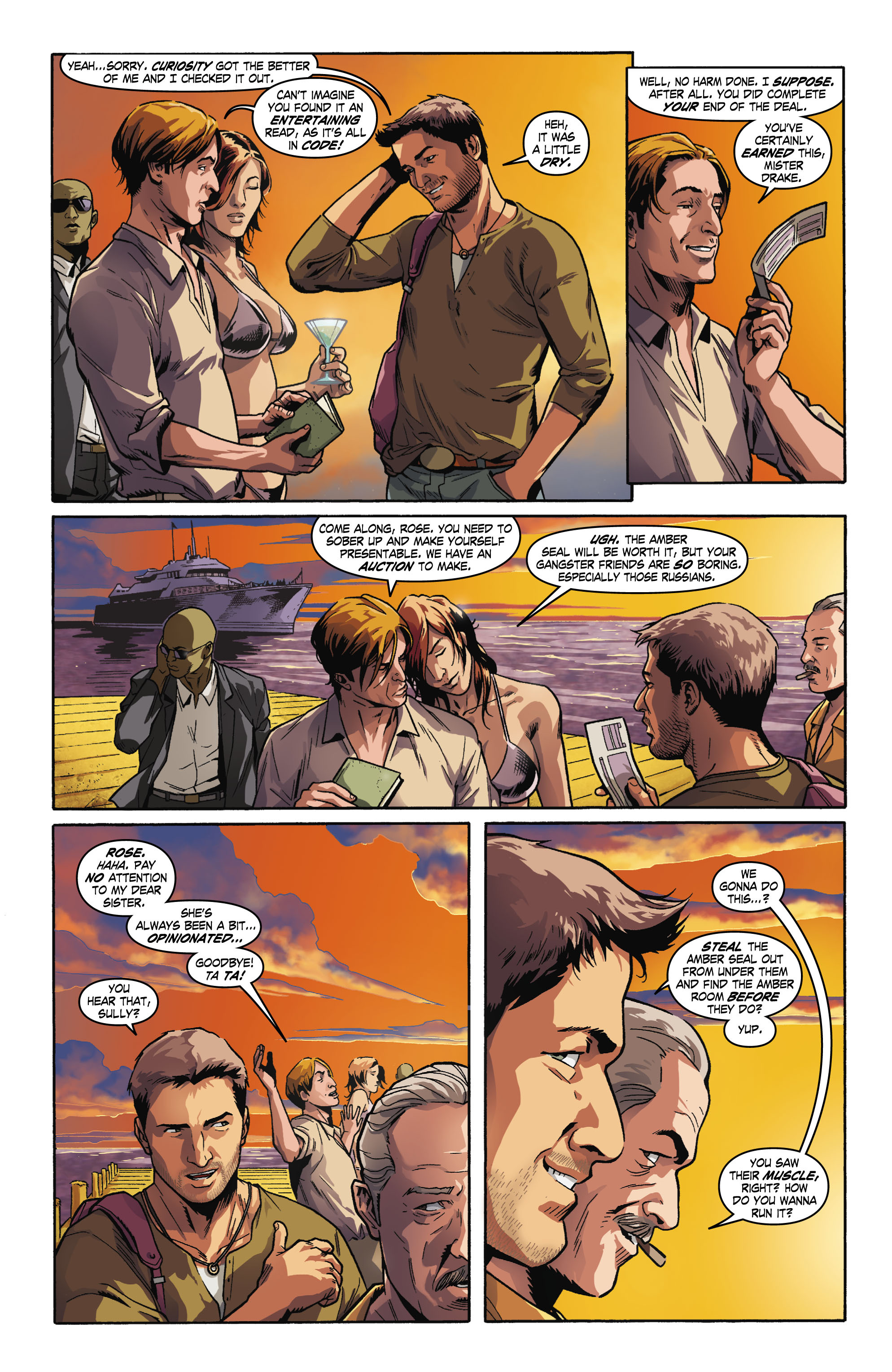 Read online Uncharted comic -  Issue #1 - 17