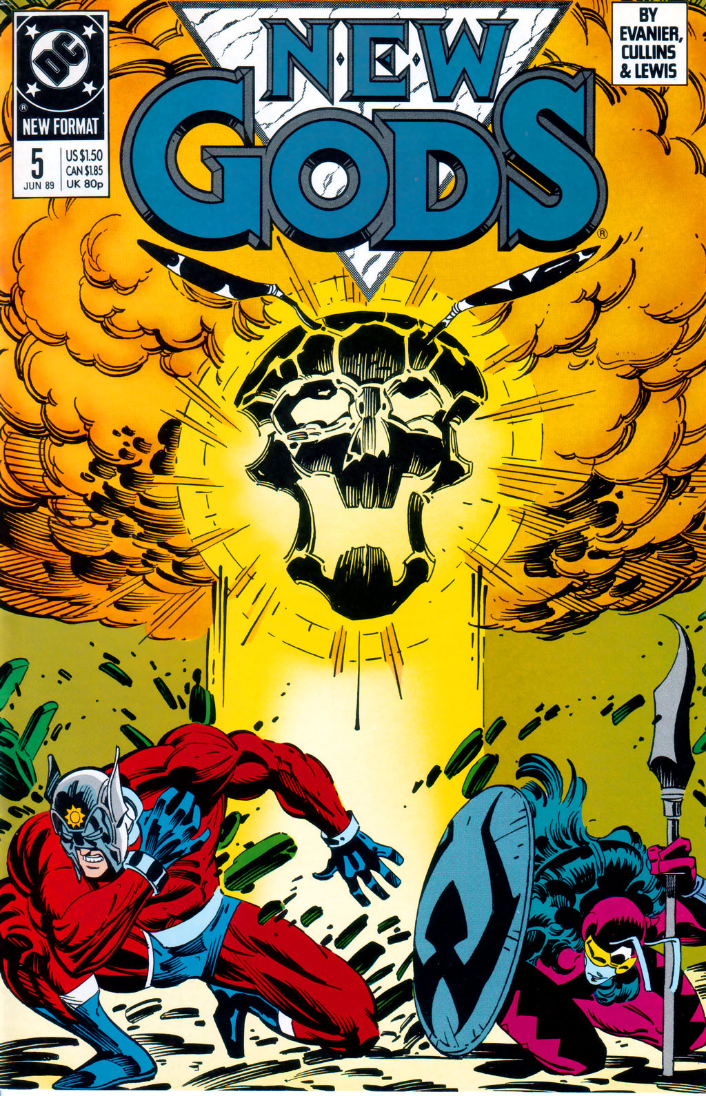 The New Gods (1989) 5 Page 1