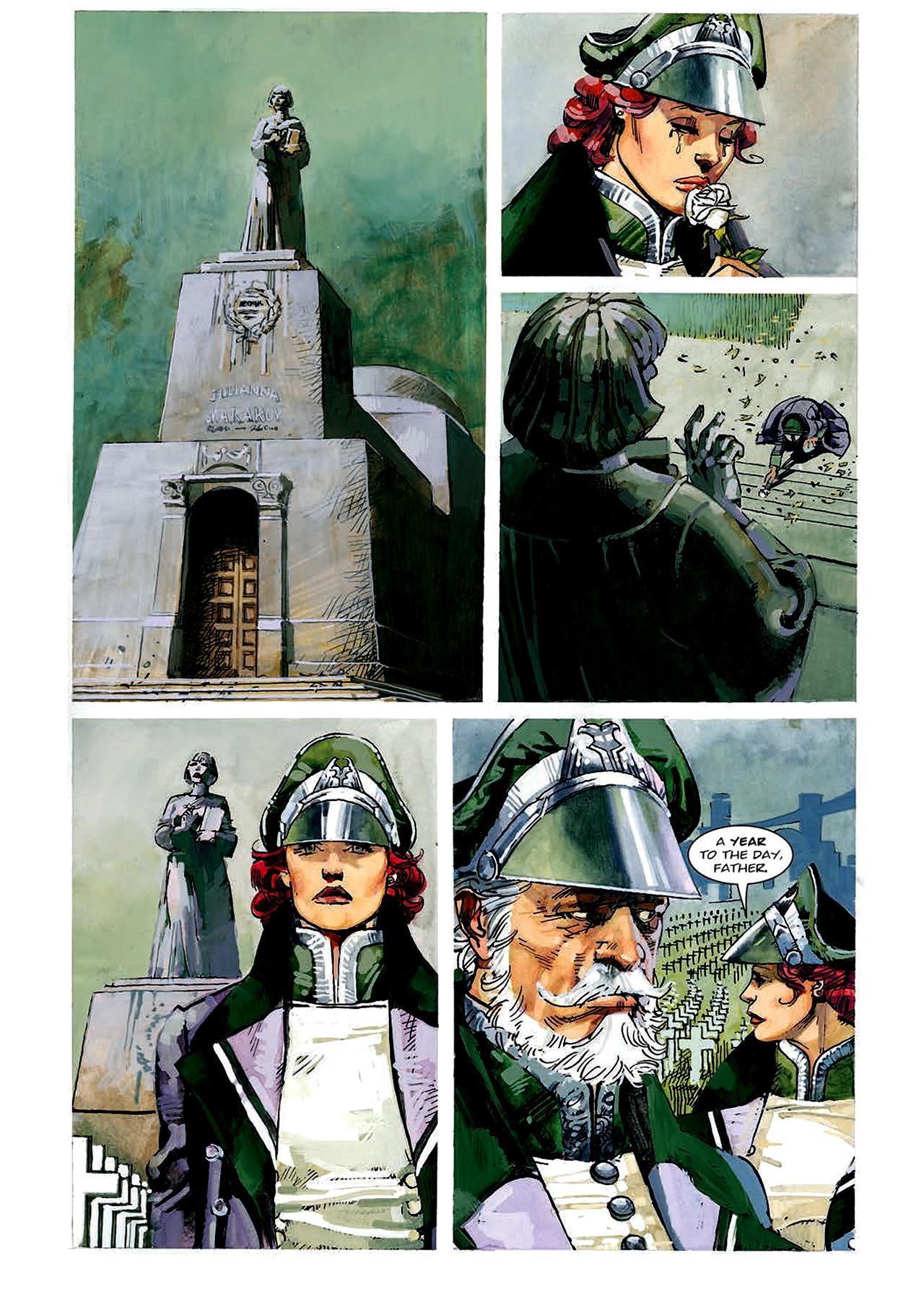 Read online Nikolai Dante comic -  Issue # TPB 4 - 53
