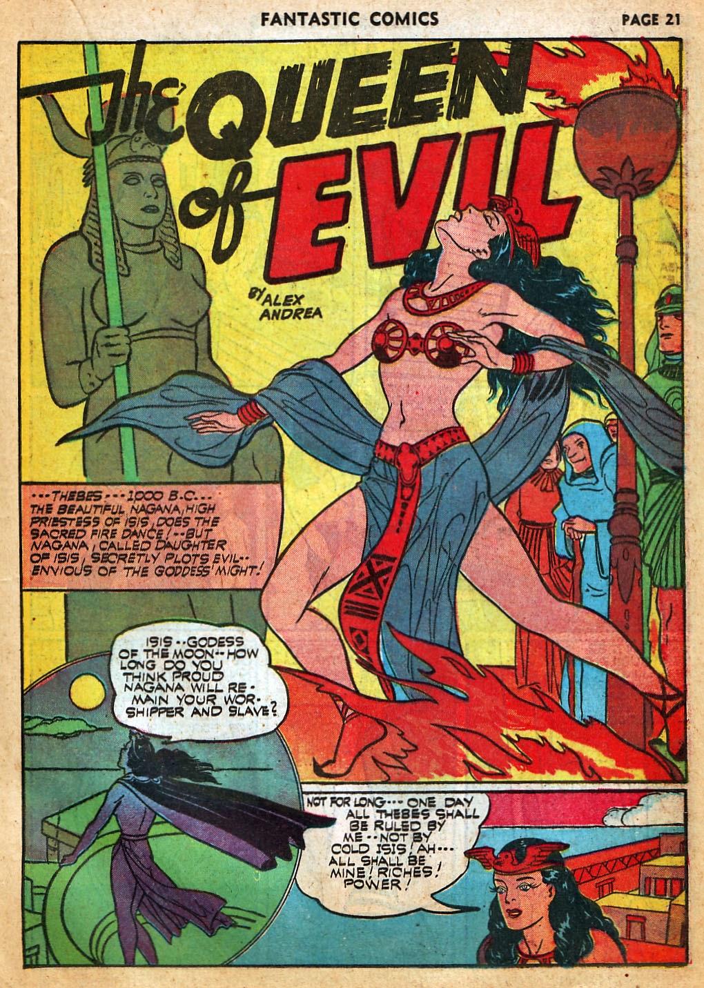 Read online Fantastic Comics comic -  Issue #22 - 23