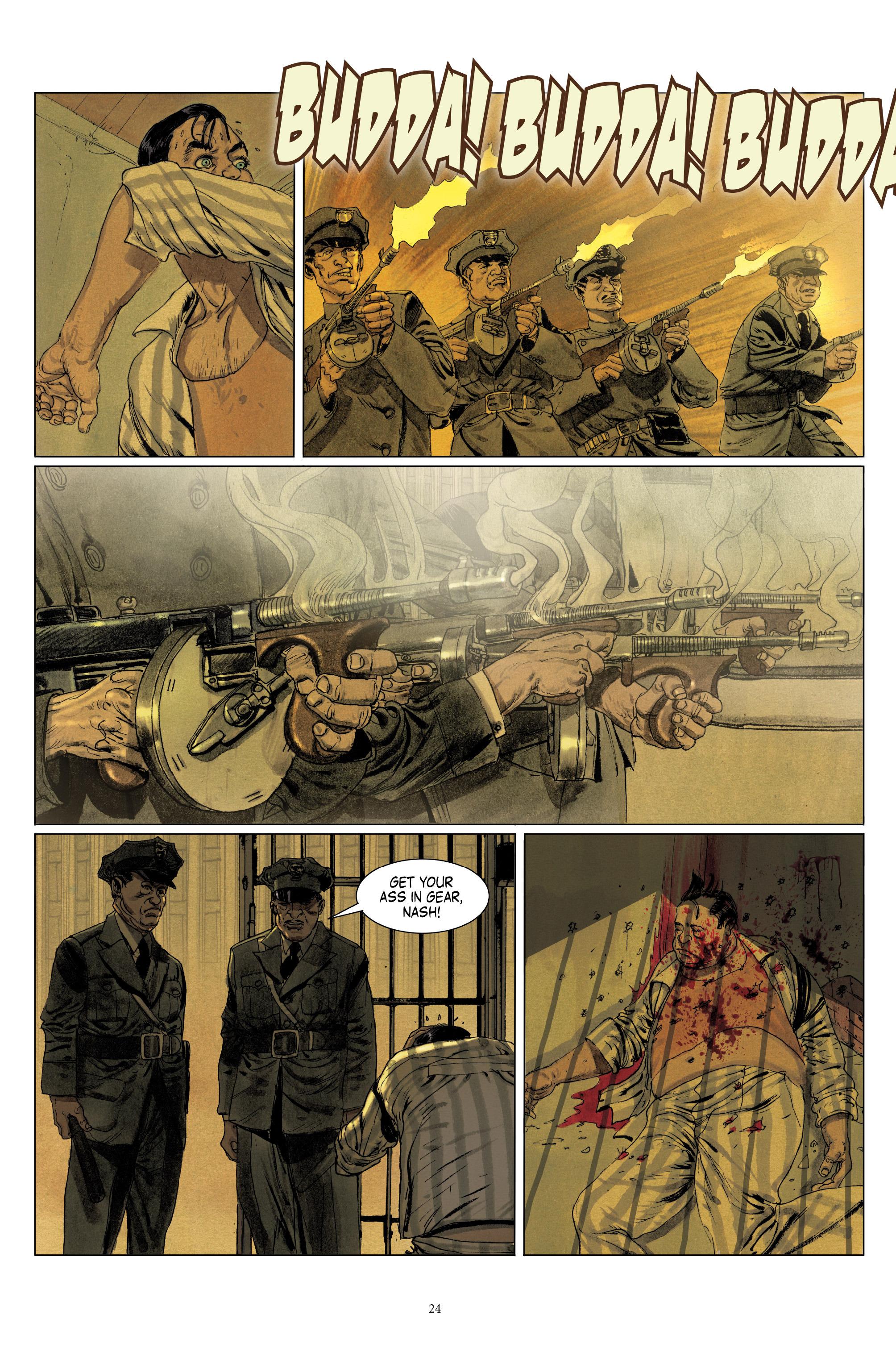 Read online Triggerman comic -  Issue #1 - 29