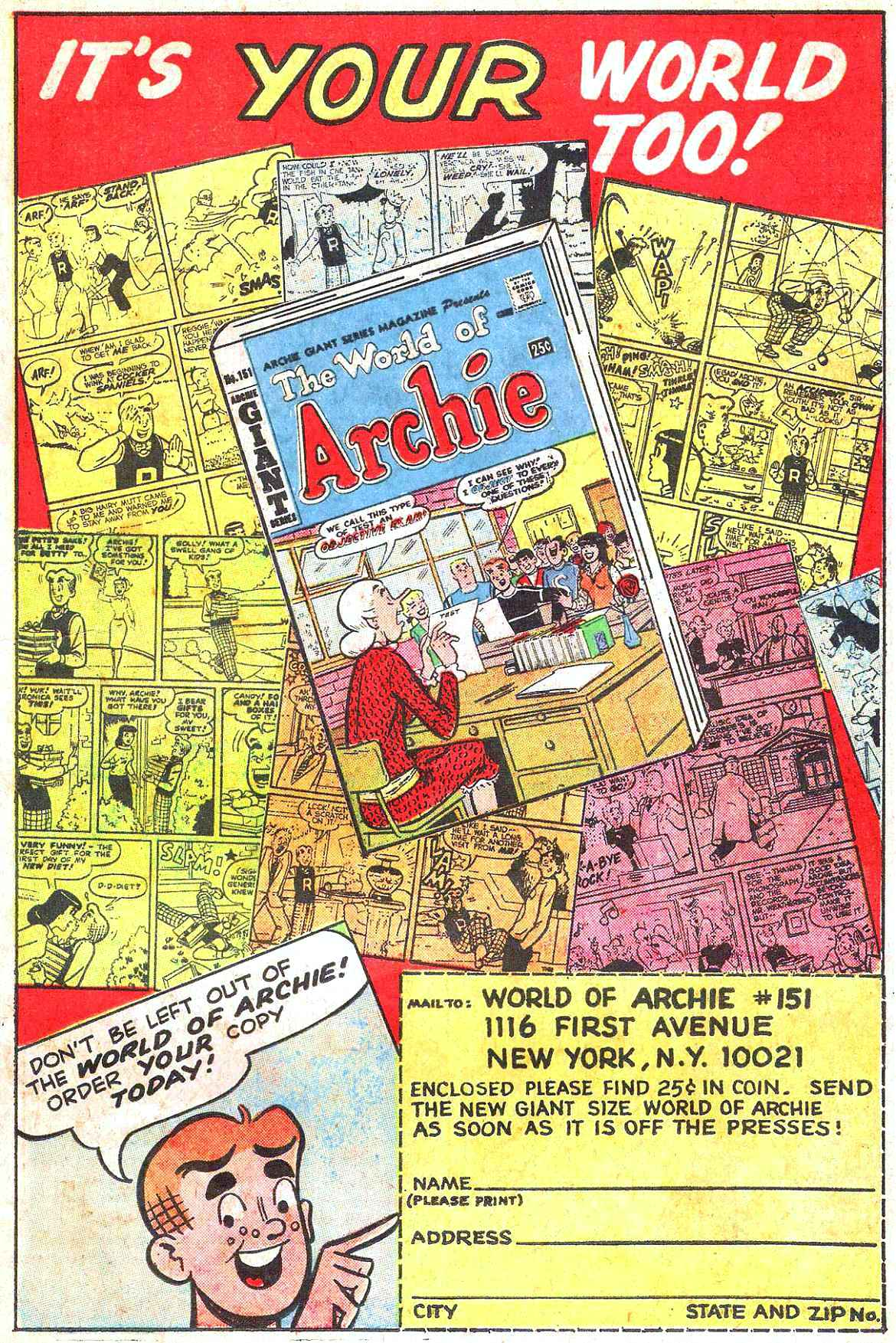 Read online Archie (1960) comic -  Issue #179 - 19