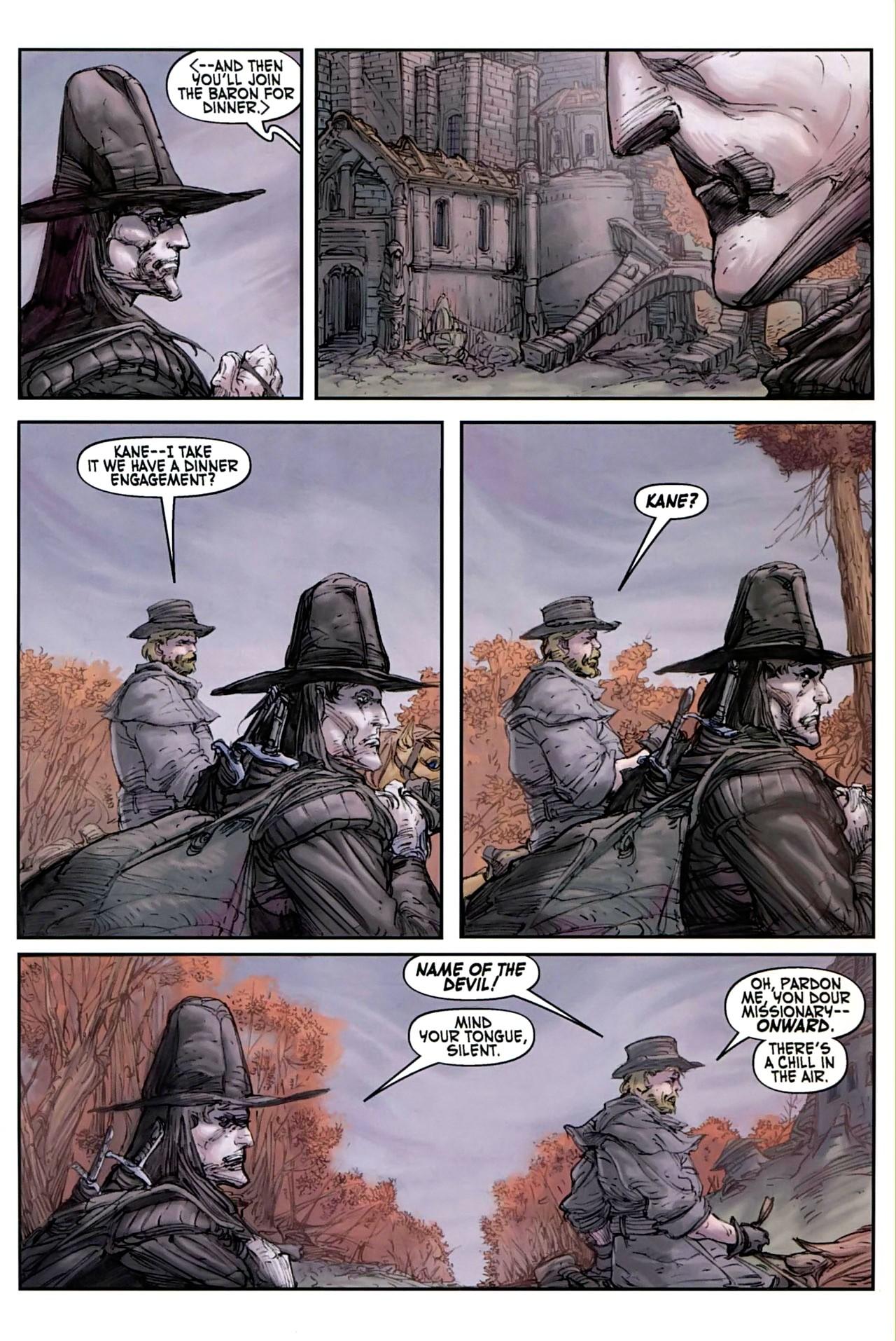 Read online Solomon Kane comic -  Issue #1 - 18