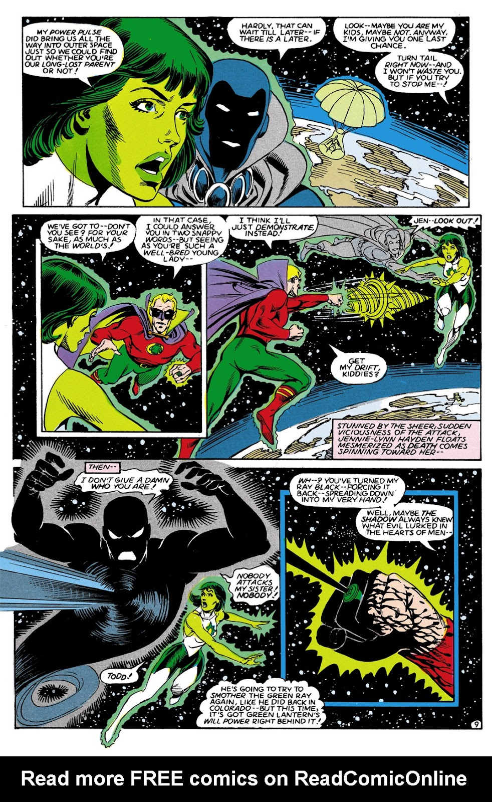 Infinity Inc. (1984) issue 9 - Page 9