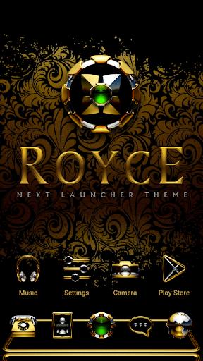 ROYCE Next Launcher 3D Theme