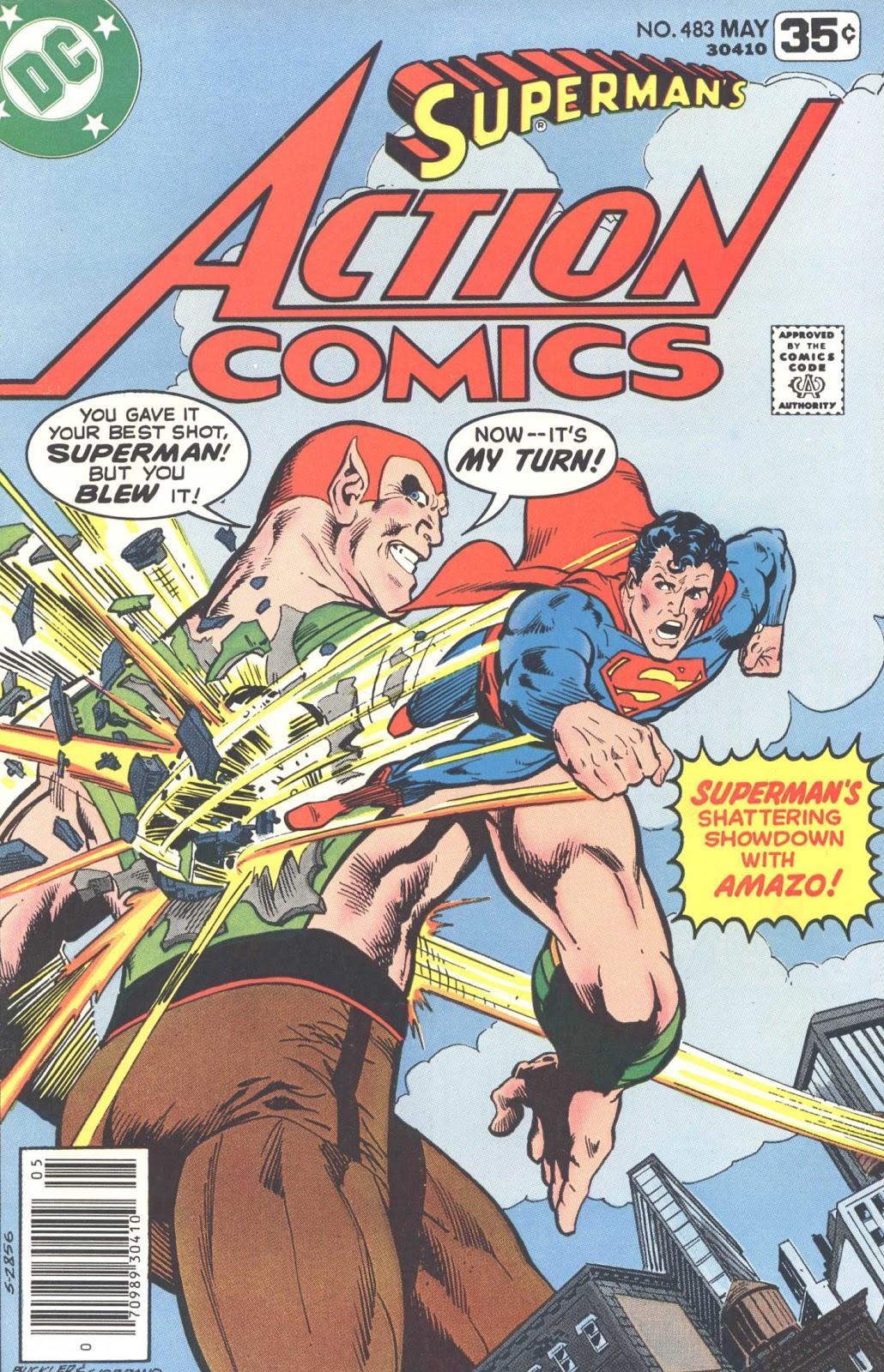 Action Comics (1938) 483 Page 1