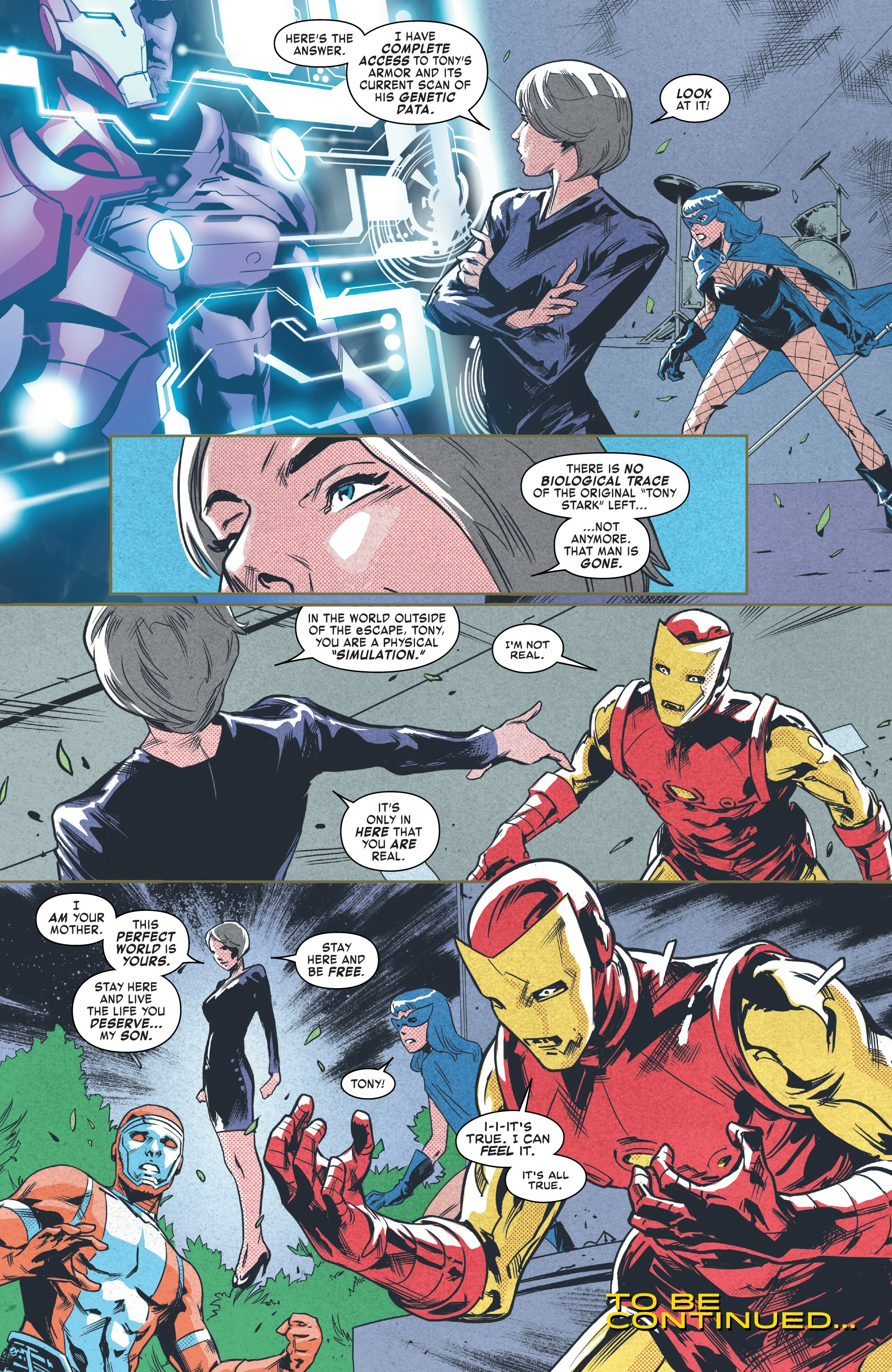 Read online Tony Stark: Iron Man comic -  Issue #9 - 20