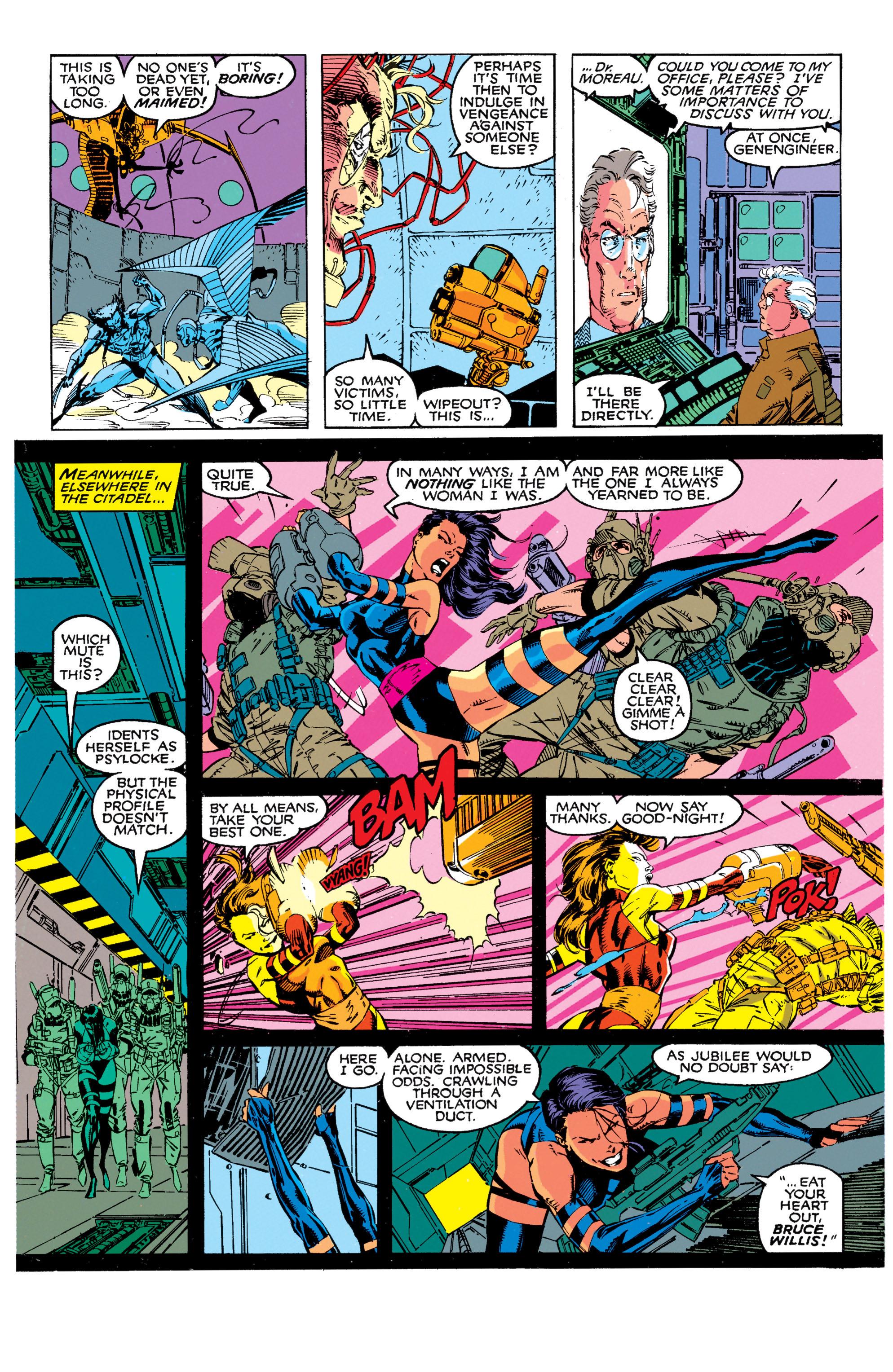 Read online Uncanny X-Men (1963) comic -  Issue #272 - 15