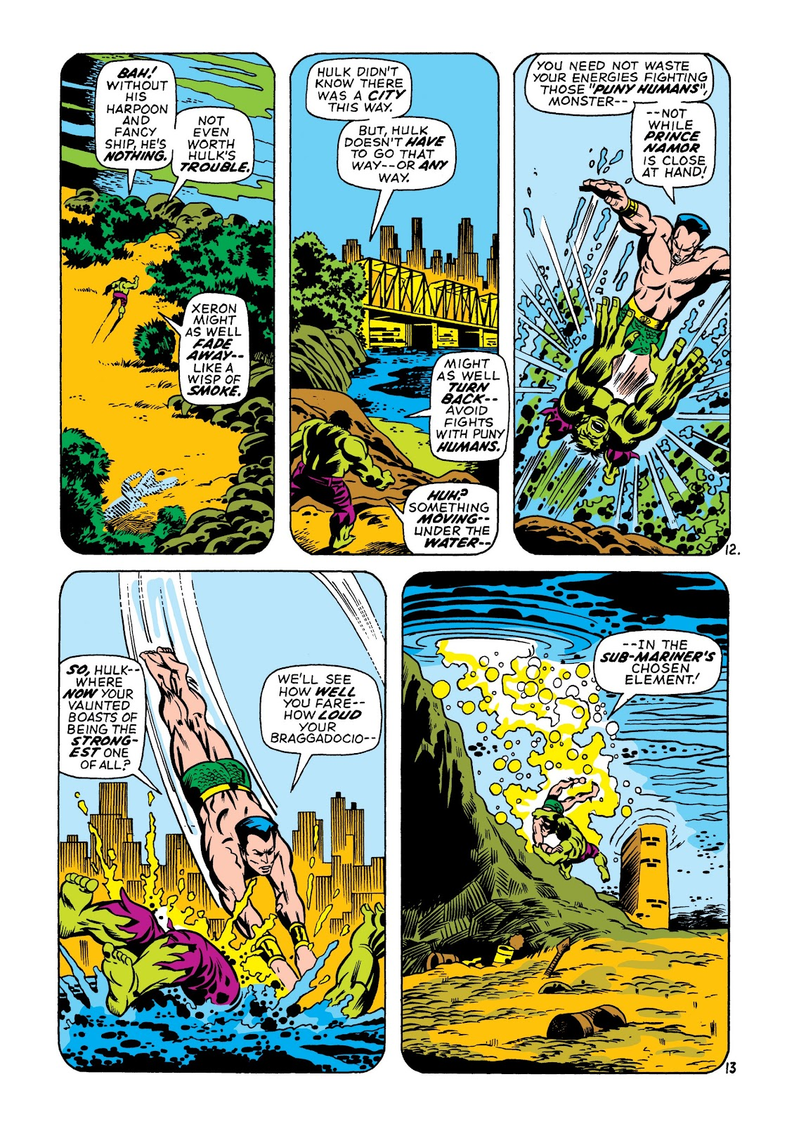 Read online Marvel Masterworks: The Incredible Hulk comic -  Issue # TPB 7 (Part 1) - 99