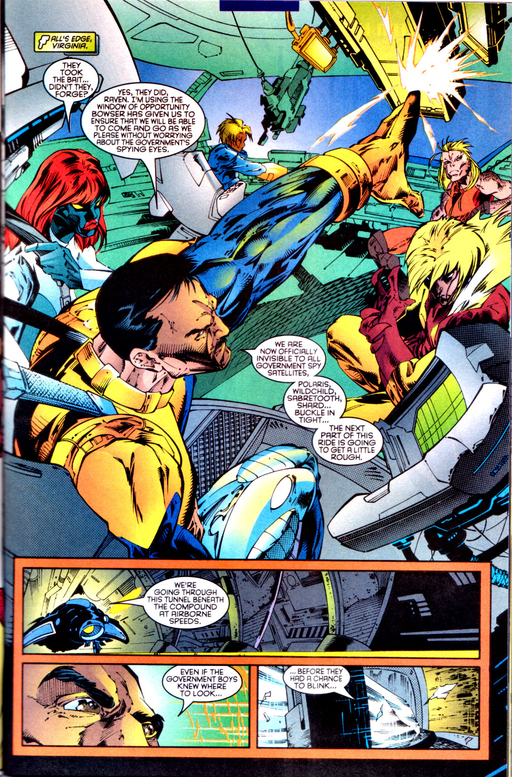 Read online X-Factor (1986) comic -  Issue #134 - 4
