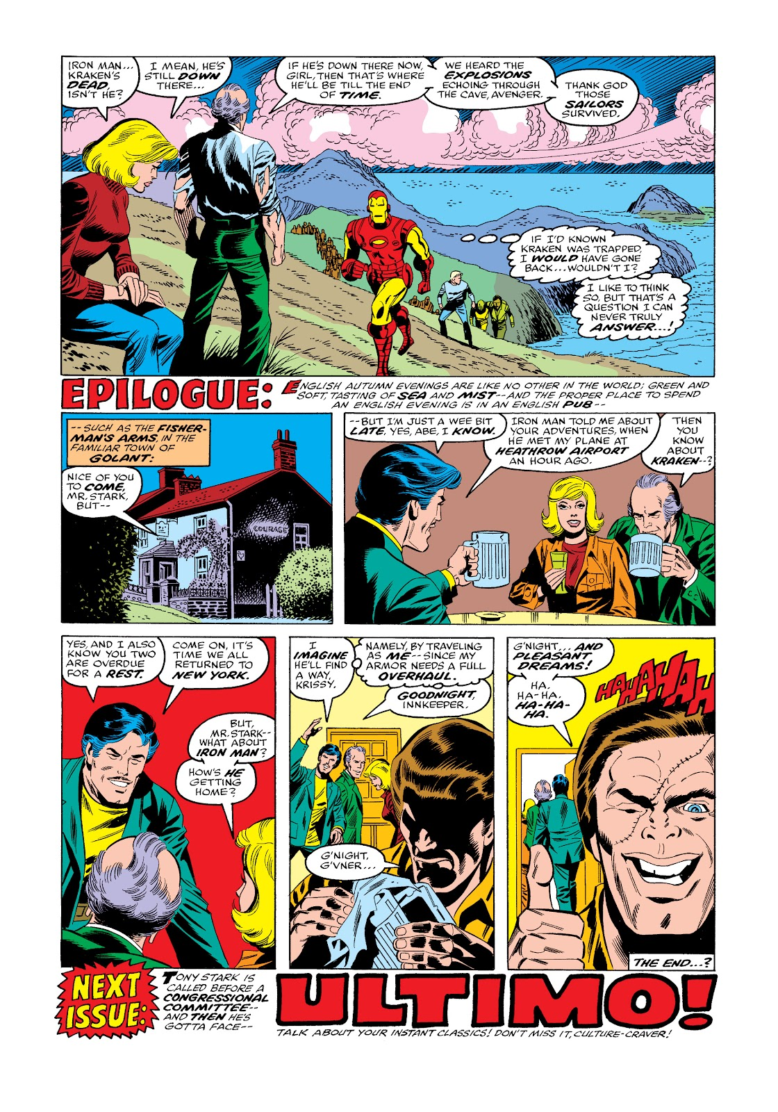 Read online Marvel Masterworks: The Invincible Iron Man comic -  Issue # TPB 11 (Part 3) - 84