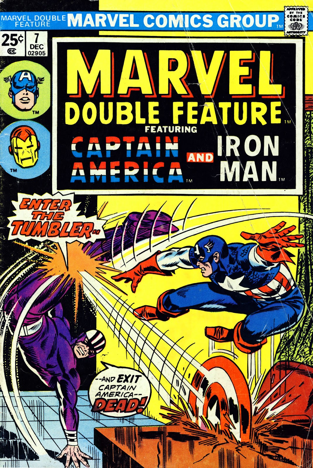 Marvel Double Feature issue 7 - Page 1
