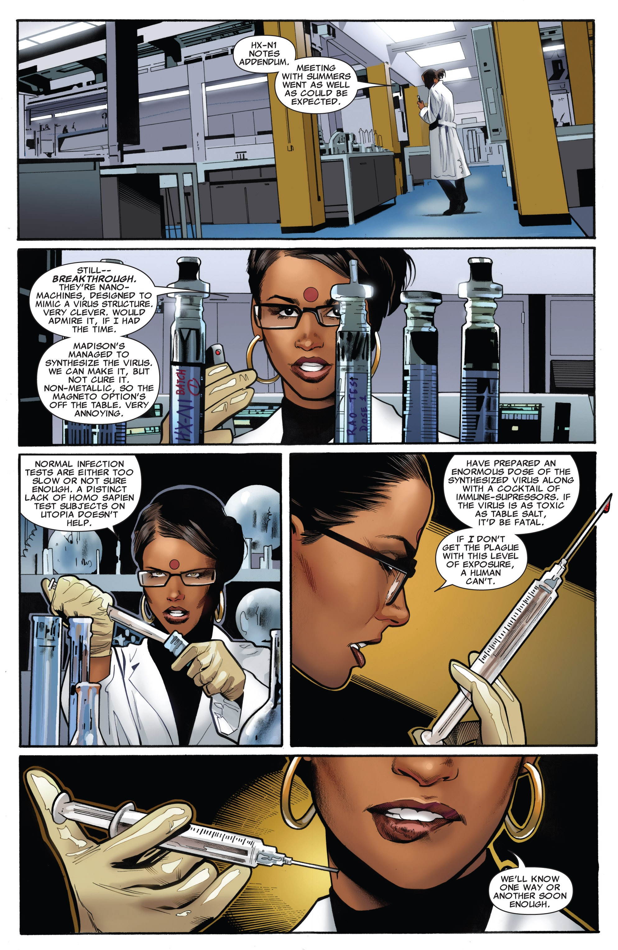 Read online Uncanny X-Men (1963) comic -  Issue #531 - 14