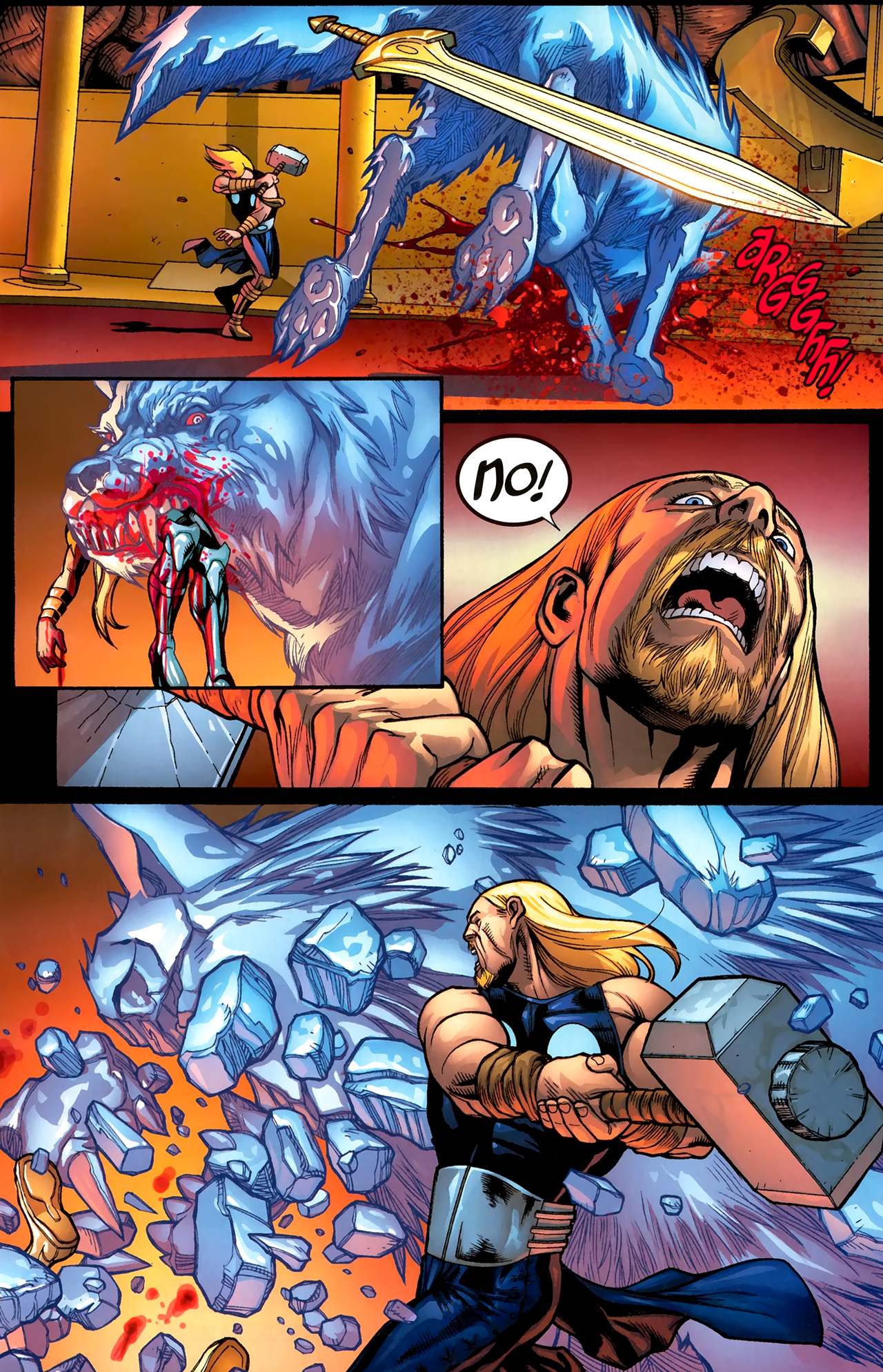 Read online Ultimate Thor comic -  Issue #3 - 20