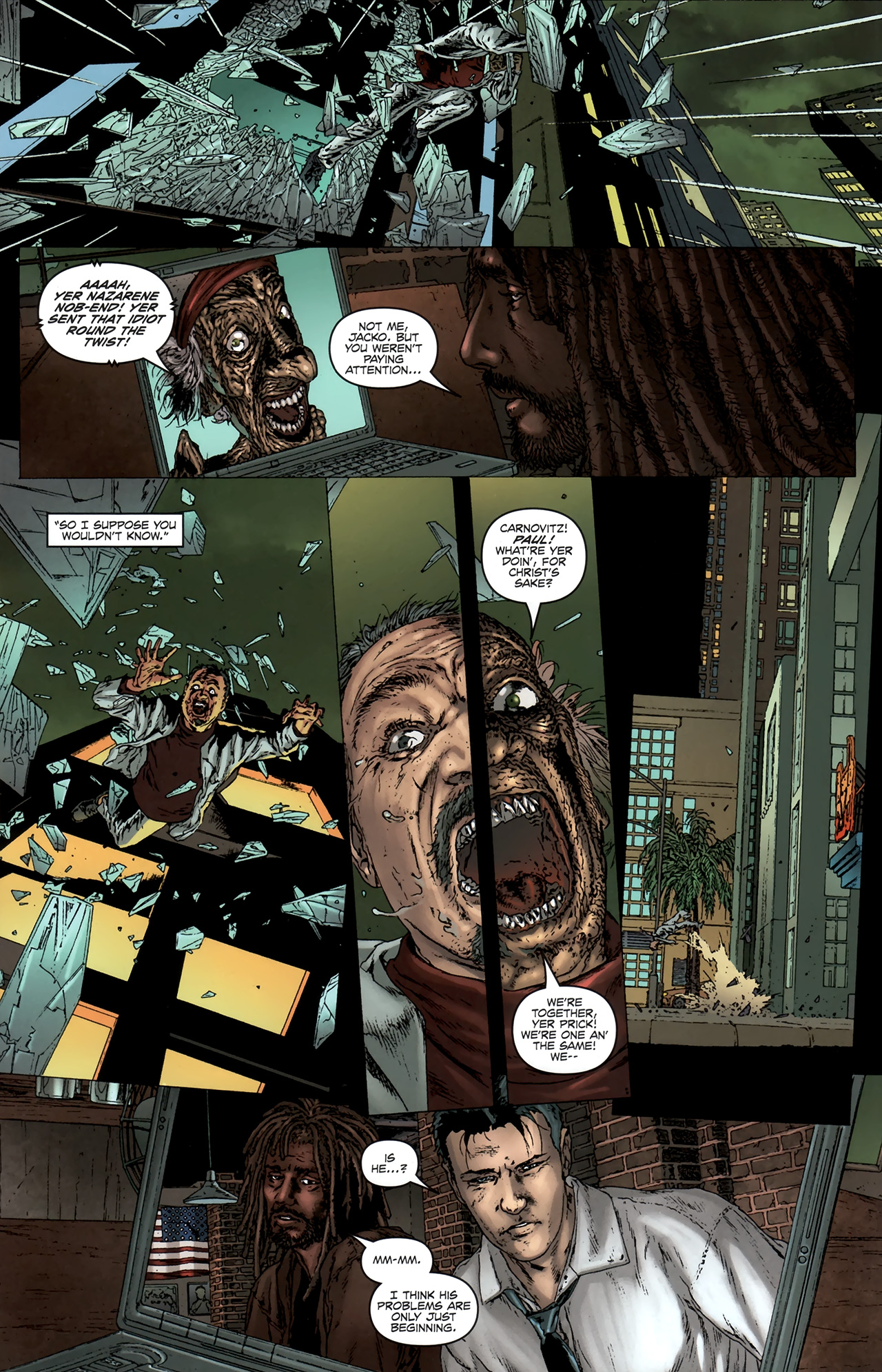 Read online Chronicles of Wormwood: The Last Battle comic -  Issue #6 - 19