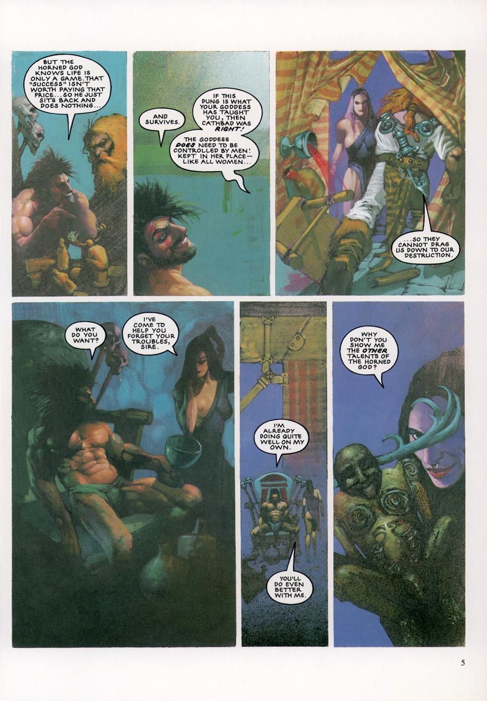Read online Slaine: The Horned God (1993) comic -  Issue #4 - 6