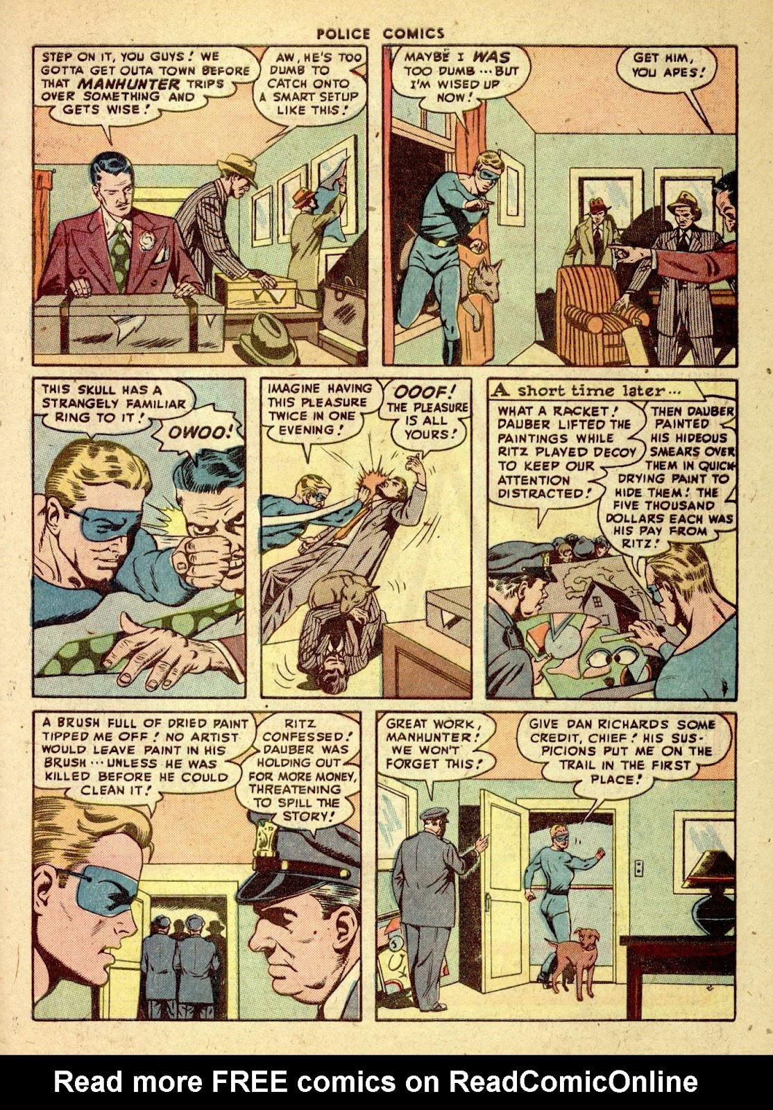 Police Comics issue 76 - Page 49