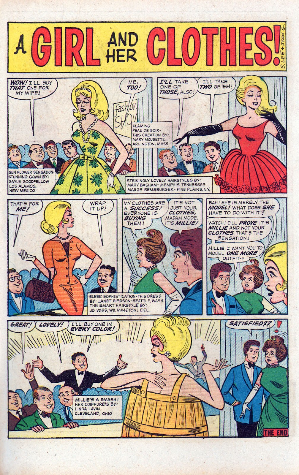 Read online Millie the Model comic -  Issue # Annual 2 - 38