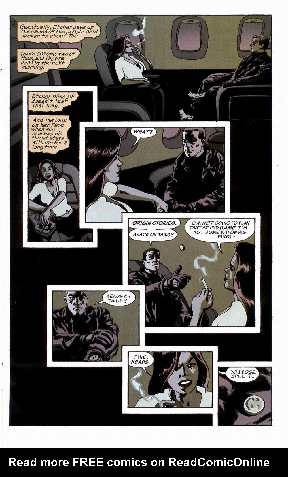 Read online Sleeper comic -  Issue #3 - 16