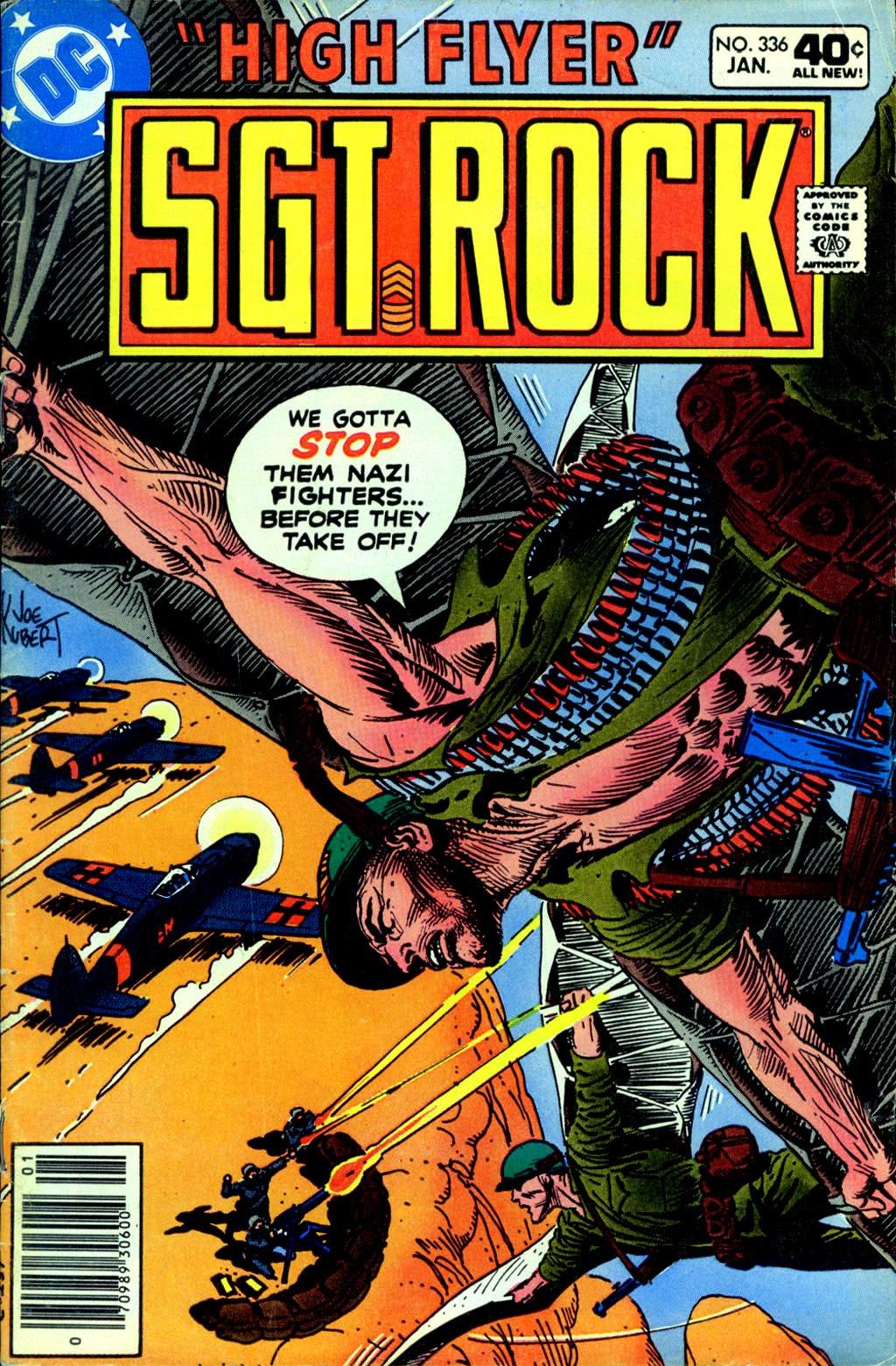 Read online Sgt. Rock comic -  Issue #336 - 1