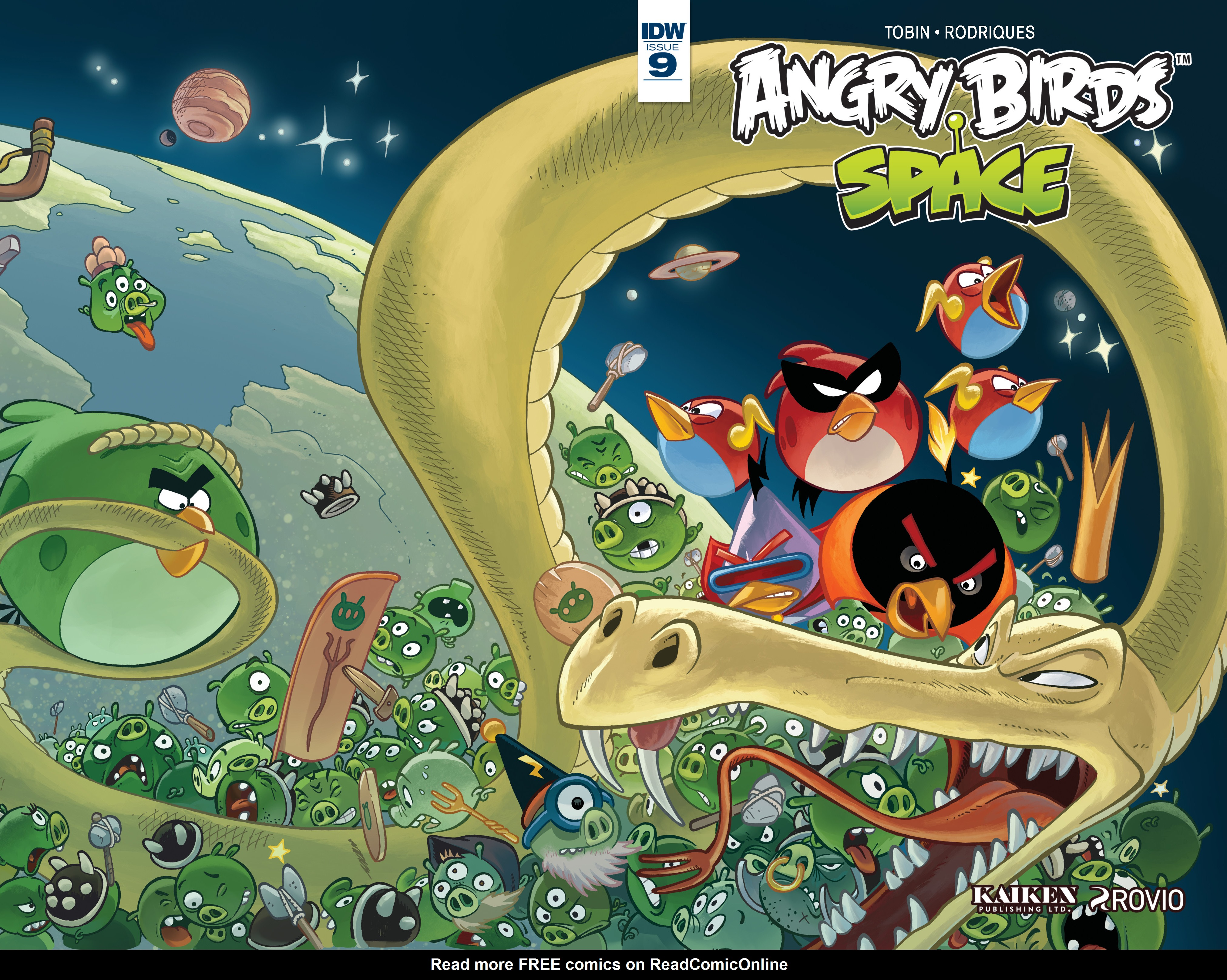 Read online Angry Birds Comics (2016) comic -  Issue #9 - 1