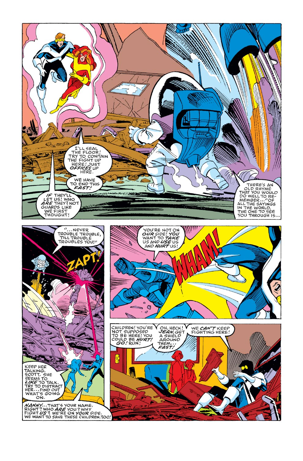 Read online X-Factor (1986) comic -  Issue #35 - 17