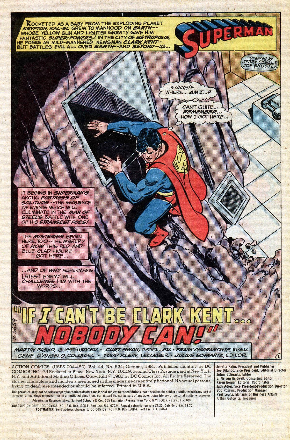 Action Comics (1938) 524 Page 2