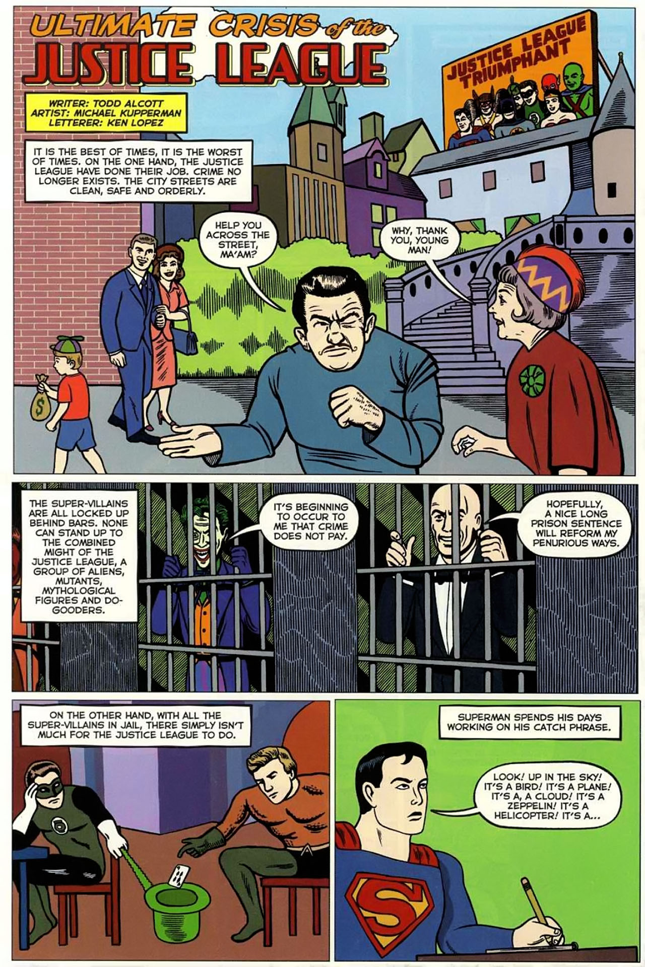 Read online Bizarro World comic -  Issue # TPB - 115