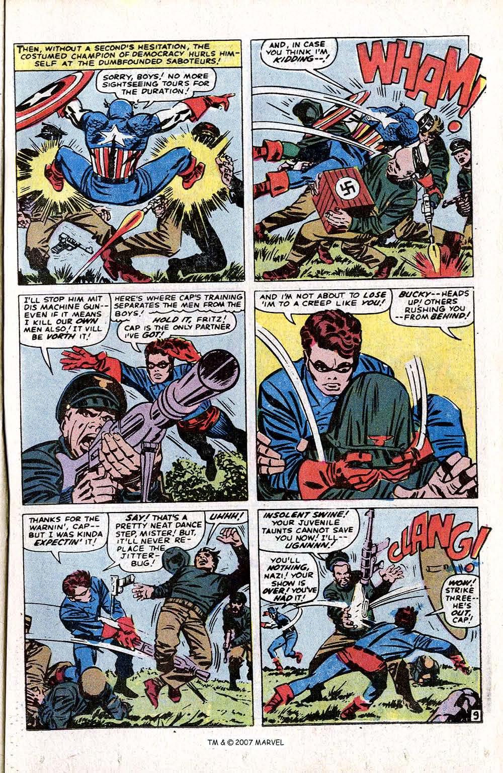 Read online Captain America (1968) comic -  Issue # _Annual 1 - 11