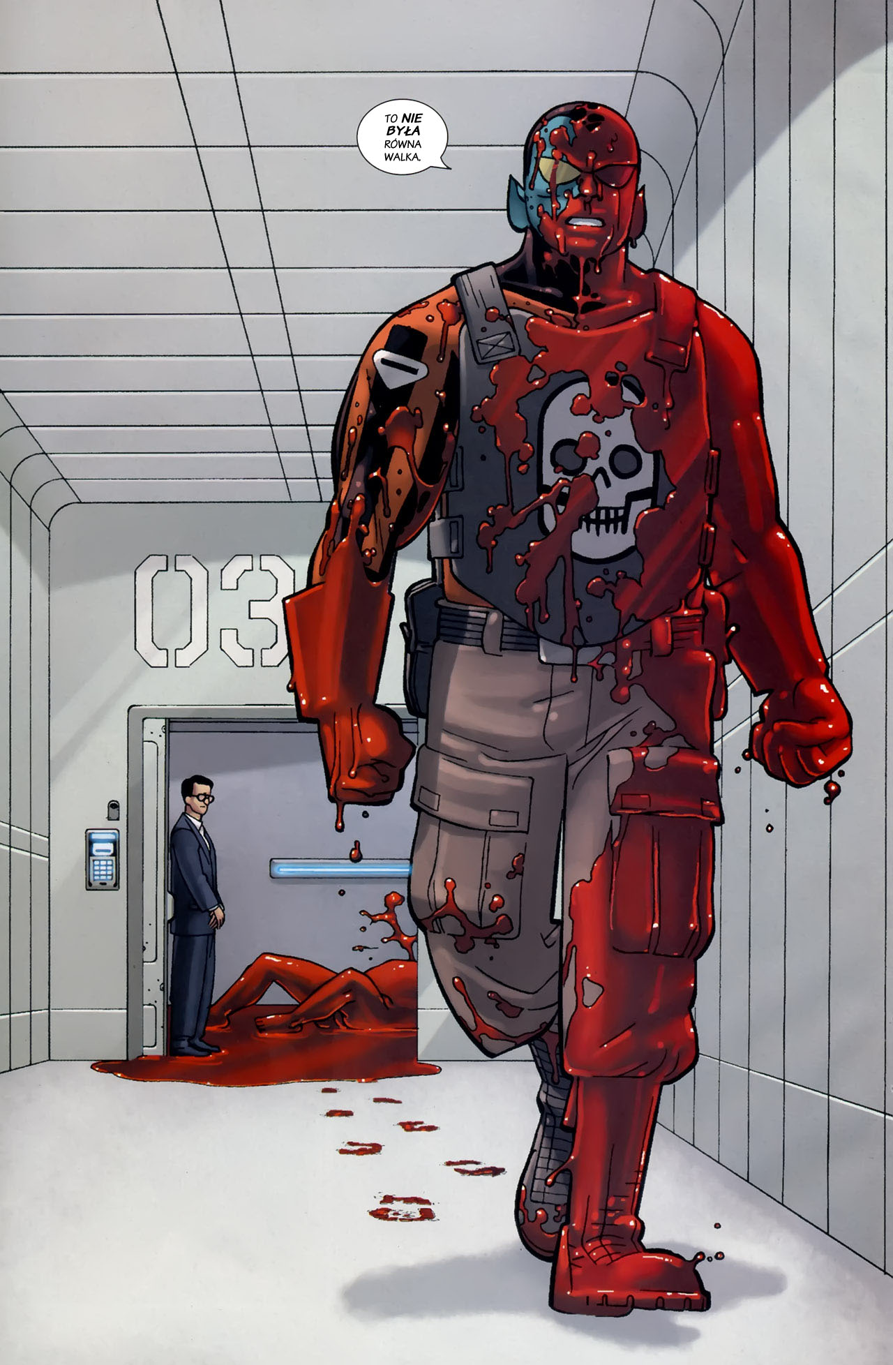 Read online Destroyer comic -  Issue #1 - 21