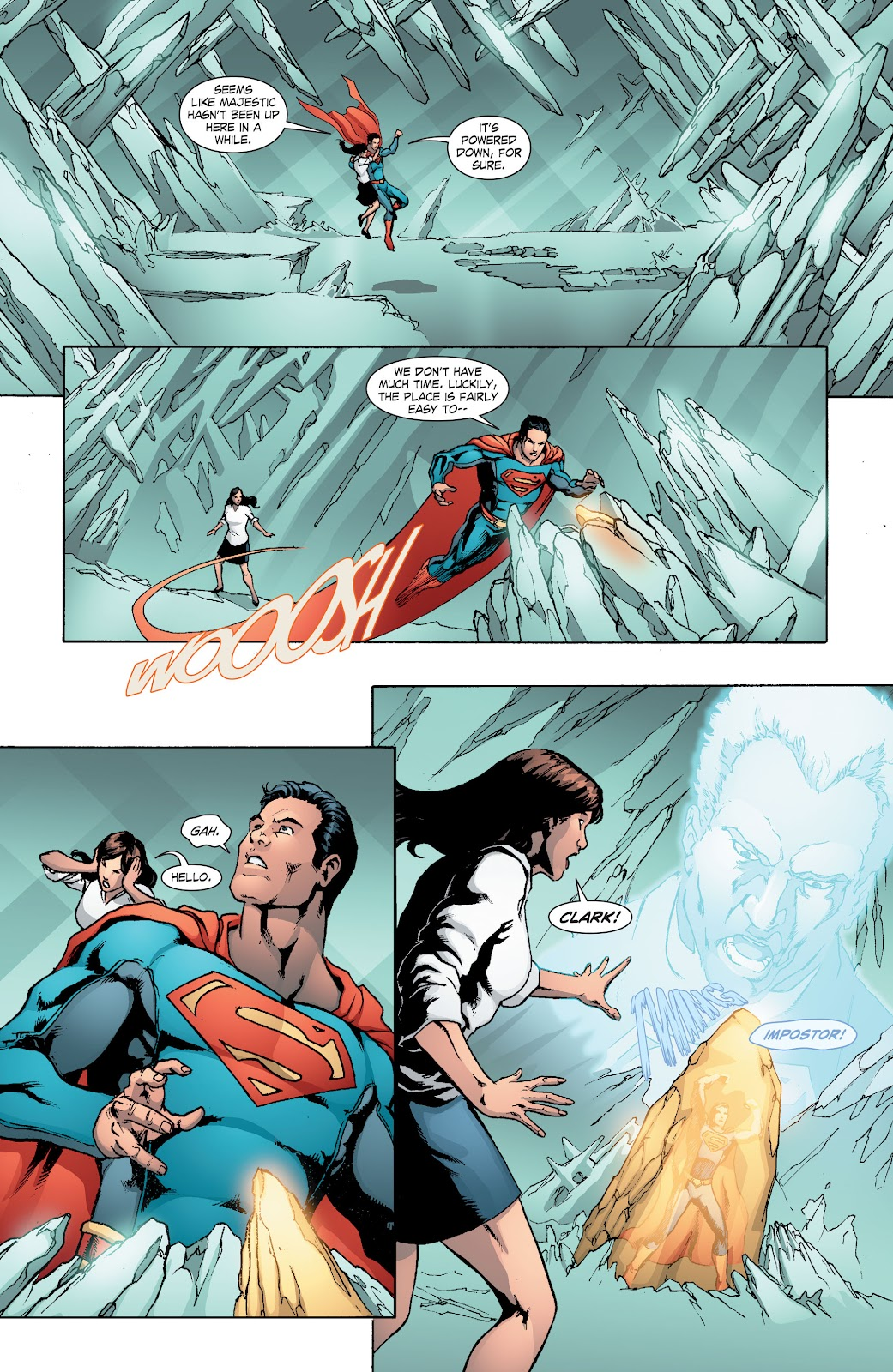 Read online Smallville Season 11 [II] comic -  Issue # TPB 8 - 99