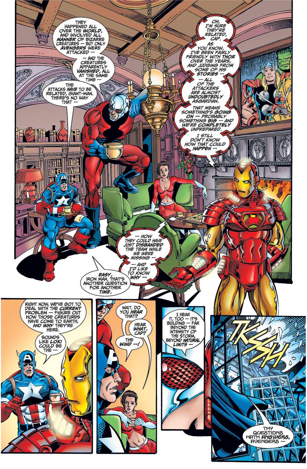 Avengers (1998) issue 1 - Page 11